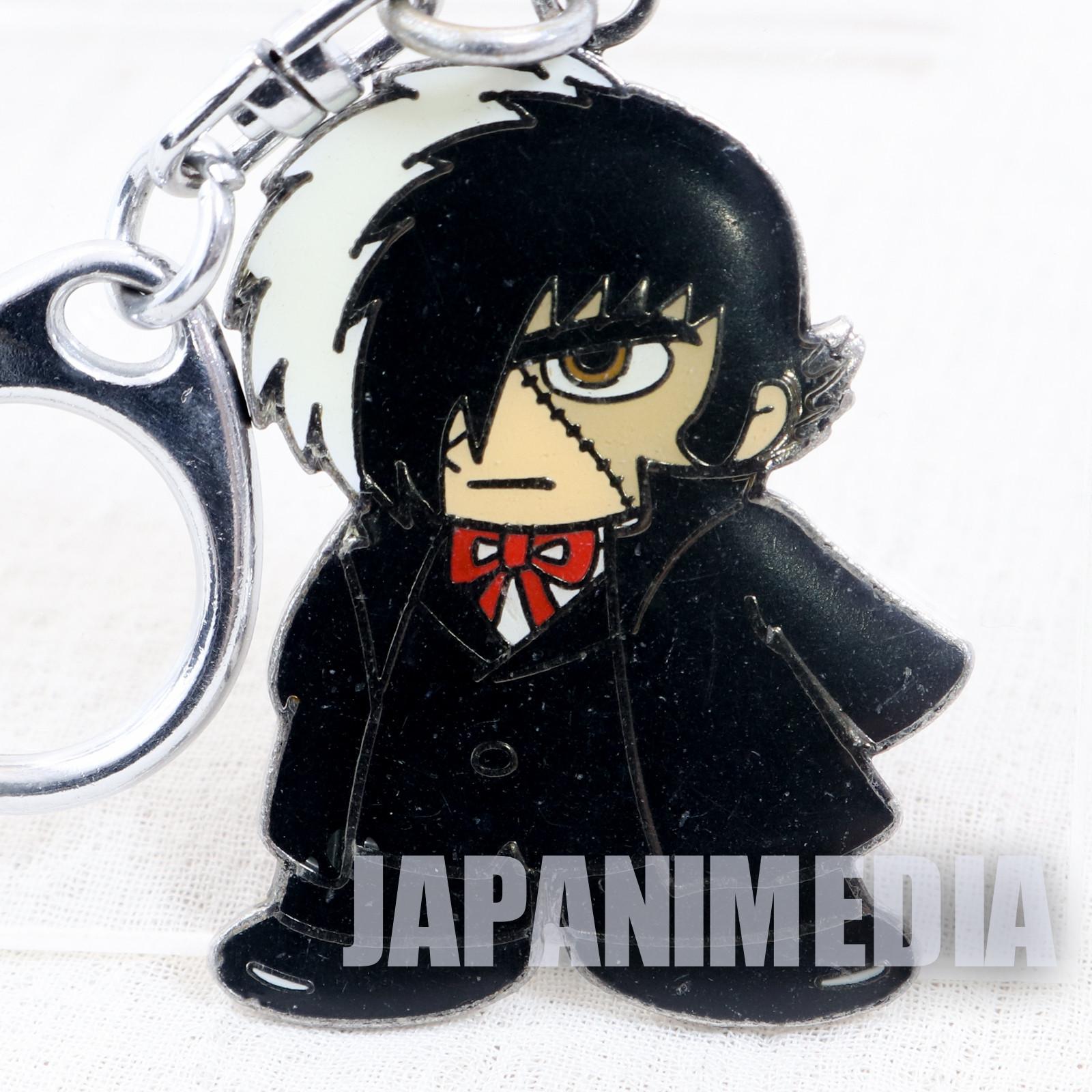 Black Jack Metal Mascot Keychain Tezuka Osamu JAPAN ANIME