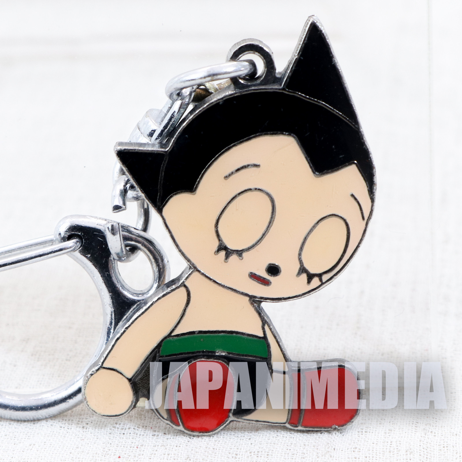 Astro Boy Atom Metal Mascot Keychain Tezuka Osamu JAPAN ANIME