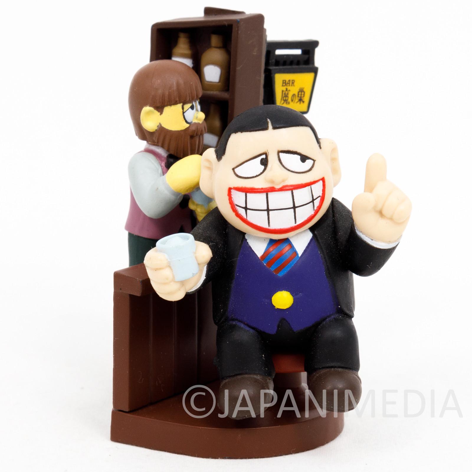 Warau Laughing Salesman Diorama Miniature Figure JAPAN ANIME