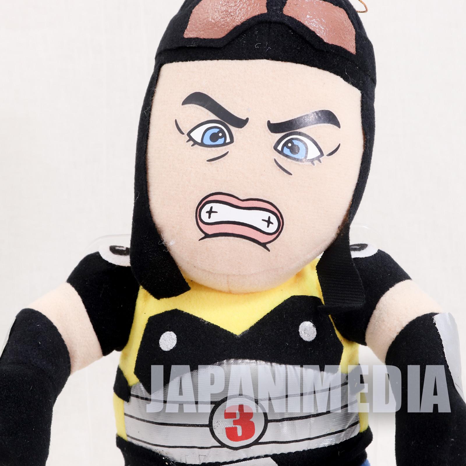 RARE! Fighting Vipers Sanman Plush Doll SEGA JAPAN GAME