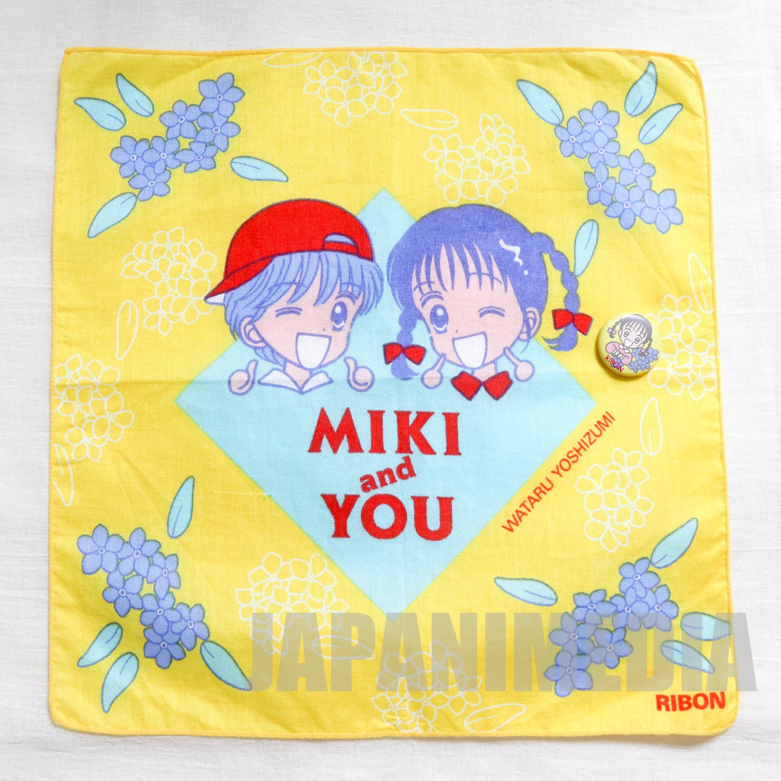 Marmalade Boy Handkerchief 10 x 10 inch [Miki Koishikawa | Yu Matsuura] JAPAN ANIME