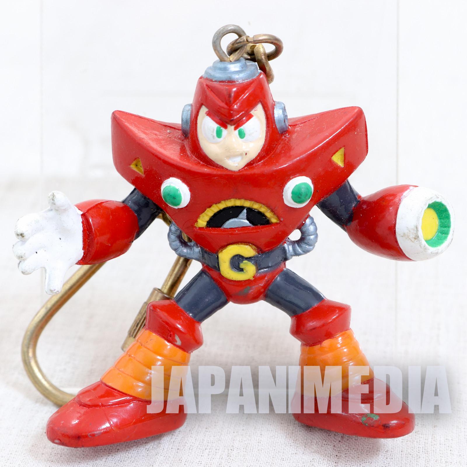 MEGA MAN 5 Gravity man Figure Keychain JAPAN GAME CAPCOM ROCKMAN