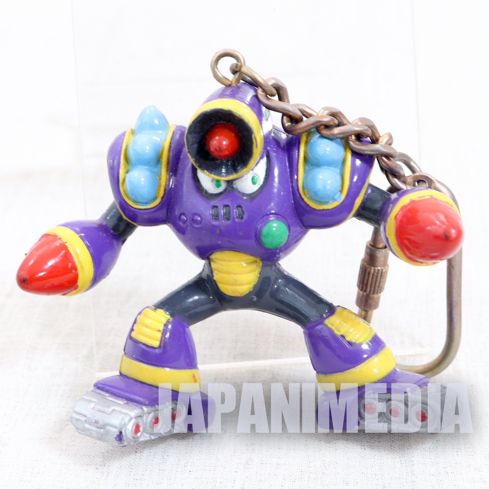 MEGA MAN 5 Napalm man Figure Keychain JAPAN GAME CAPCOM ROCKMAN