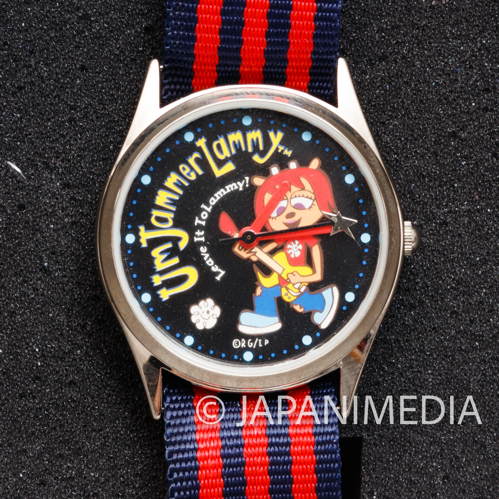 RARE UmJammer Lammy Wrist Watch Limited Edition JAPAN GAME PS