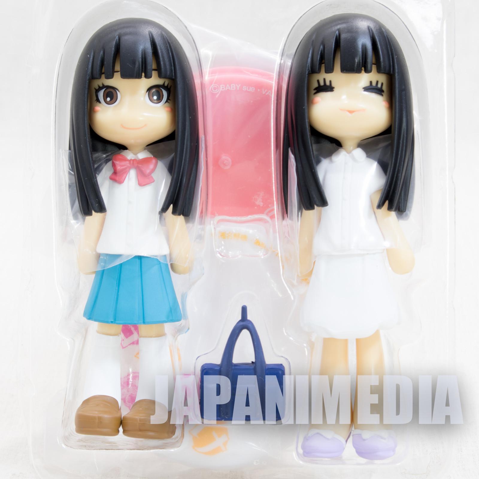 Kimi ni Todoke P:Chara Figure Sawako Kuronuma 2pc JAPAN ANIME MANGA