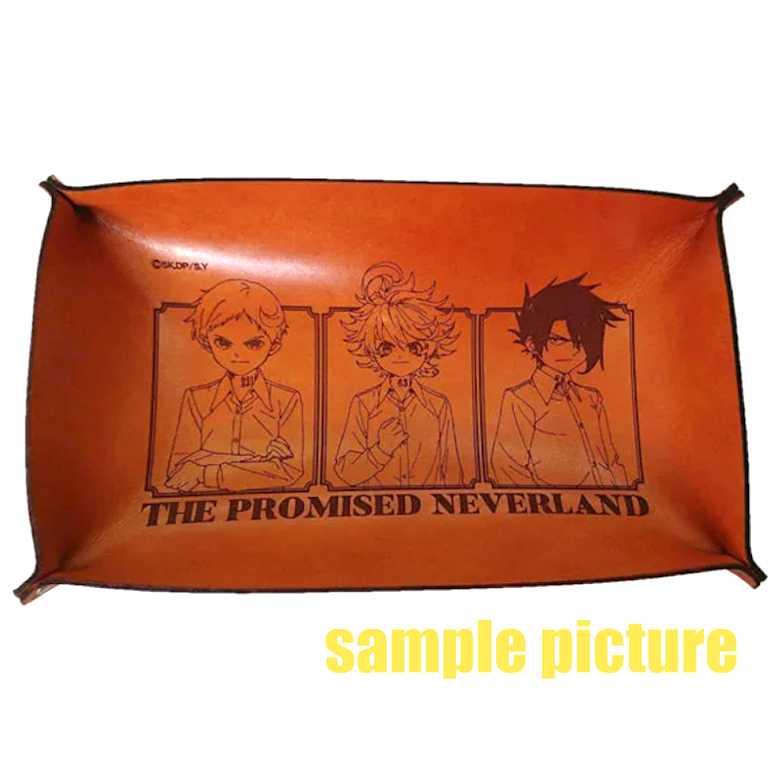 Promised Neverland Genuine Leather Tray JAPAN ANIME