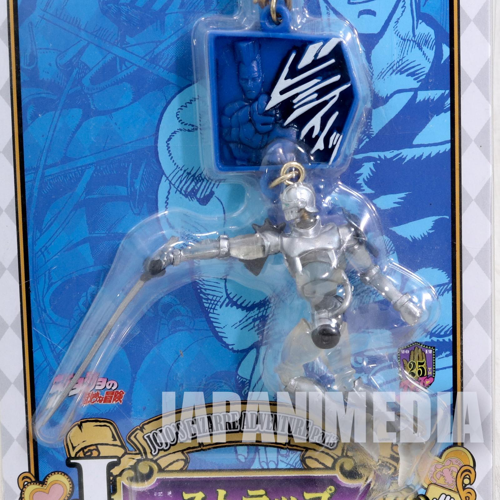 JoJo's Bizarre Adventure Silver Chariot Polnareff Mobile Strap JAPAN ANIME