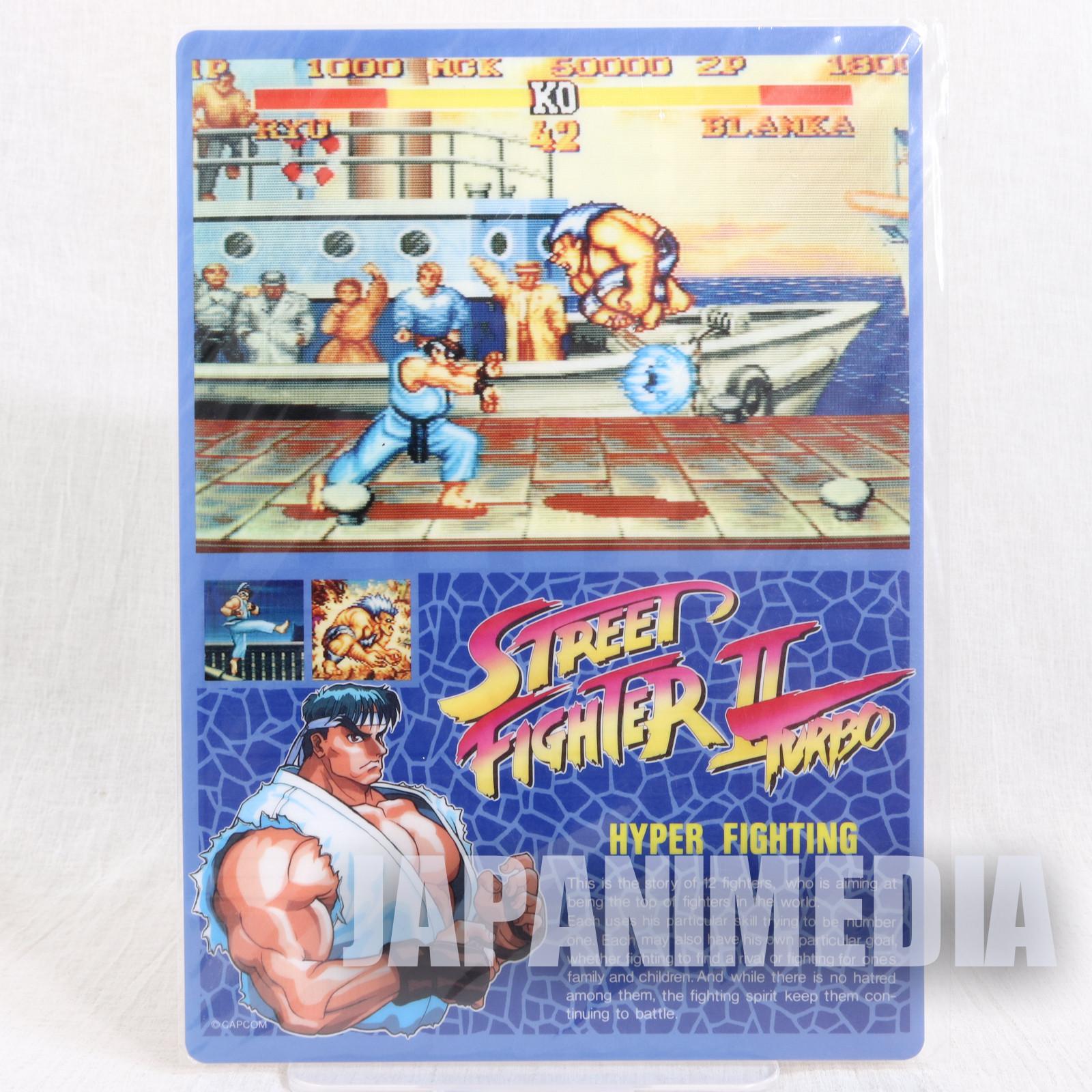 Street Fighter II RYU Pencil Board Pad Shitajiki JAPAN CAPCOM