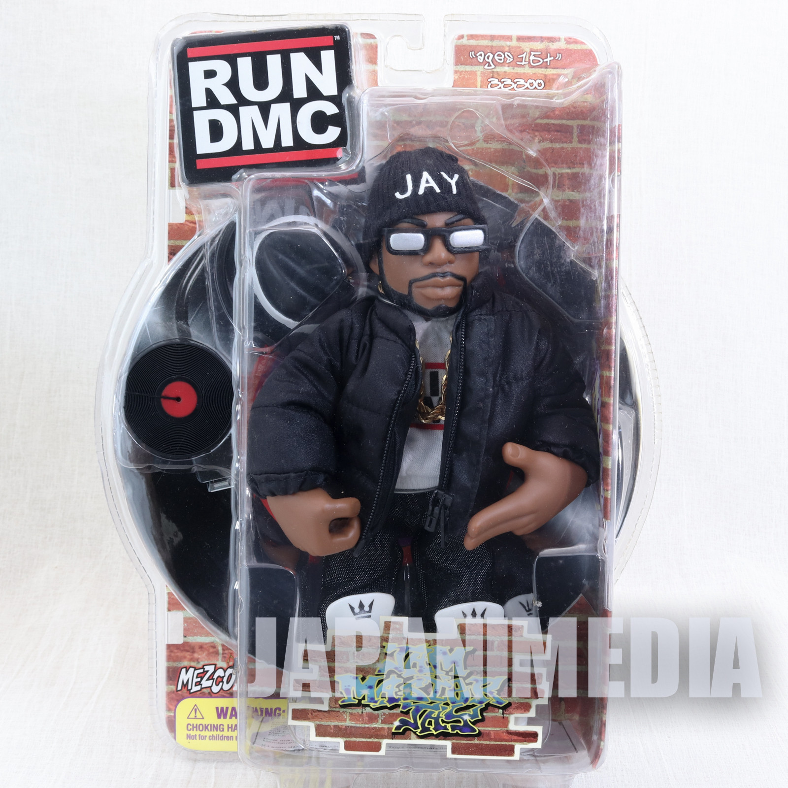 RUN DMC Jam Master Jay Action Figure Down jacket Ver. Mezco Toy HIP HOP RAP