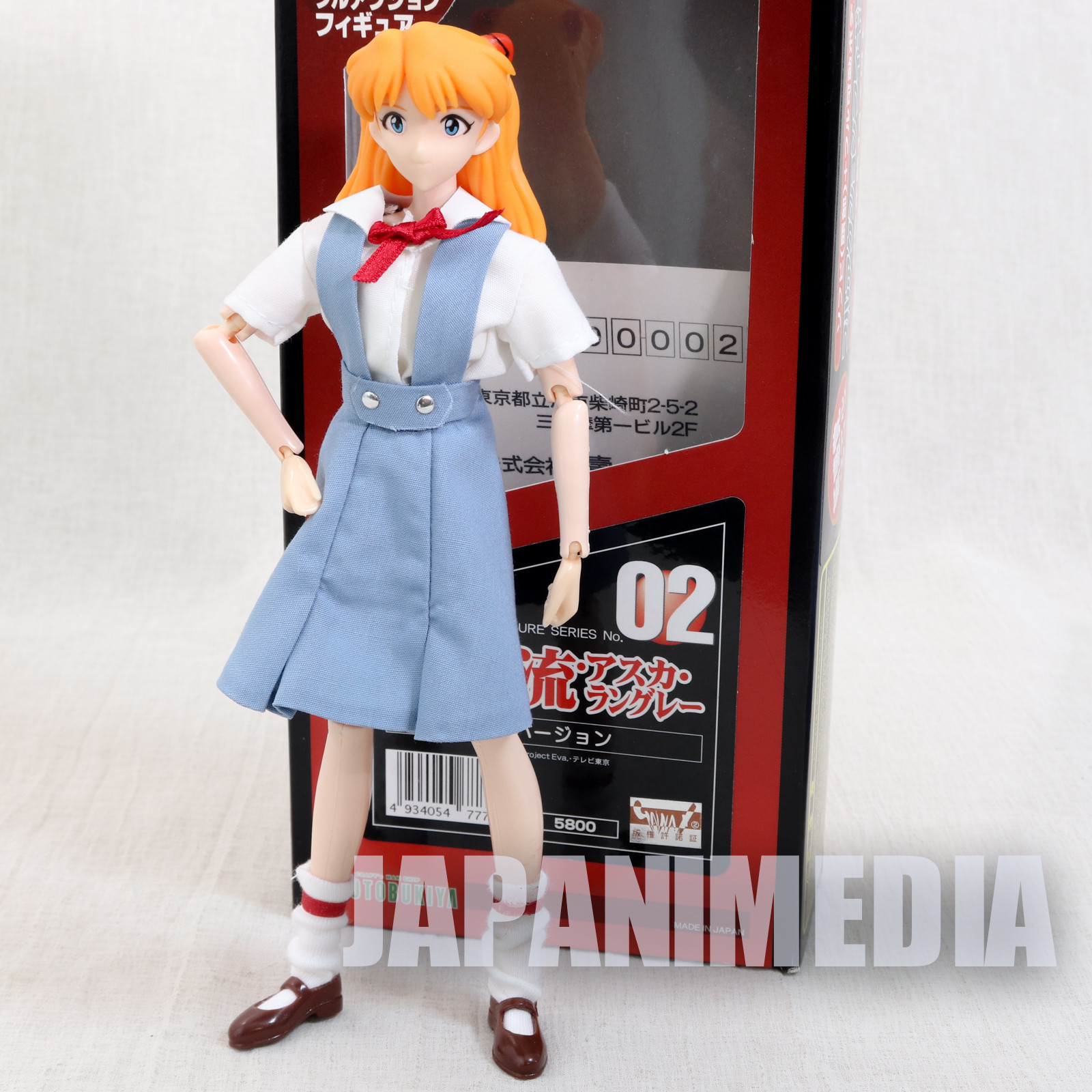 Evangelion Asuka Langley Full Action Figure Kotobukiya JAPAN ANIME MANGA