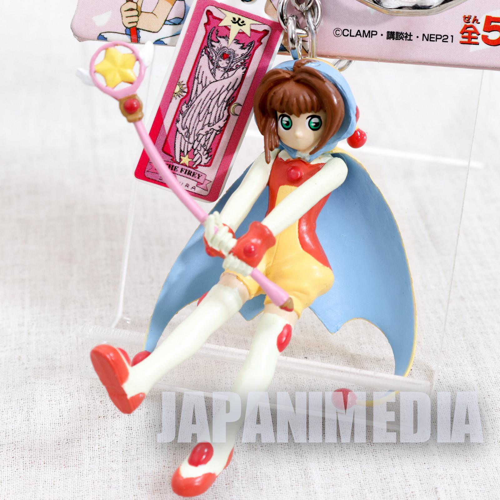 Cardcaptor Sakura Figure Keychain Battle Uniform Ver. 1 JAPAN ANIME MANGA CLAMP