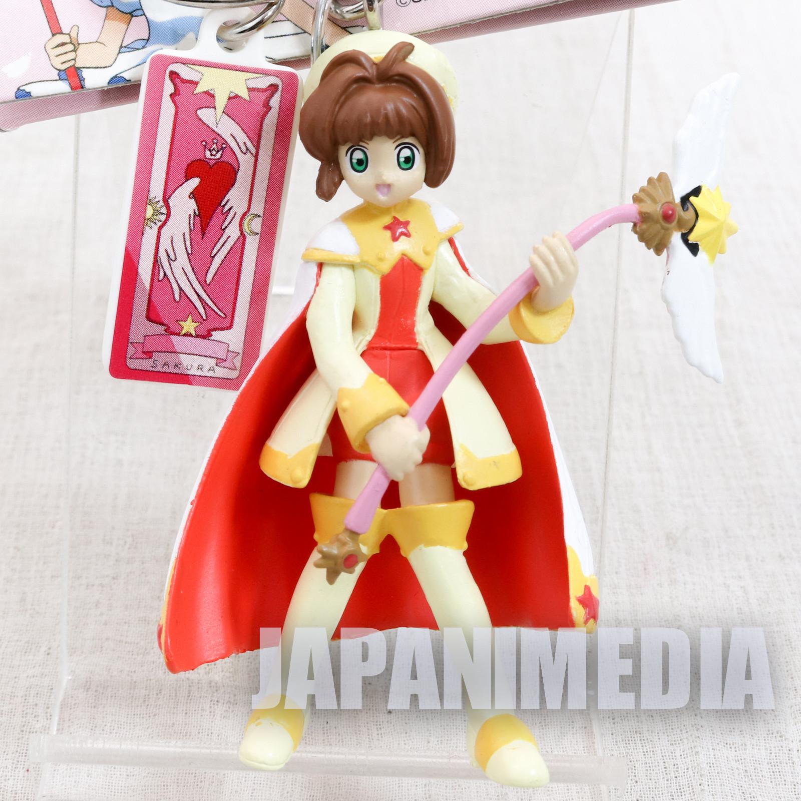 Cardcaptor Sakura Figure Keychain Battle Uniform Ver. 2 JAPAN ANIME MANGA CLAMP