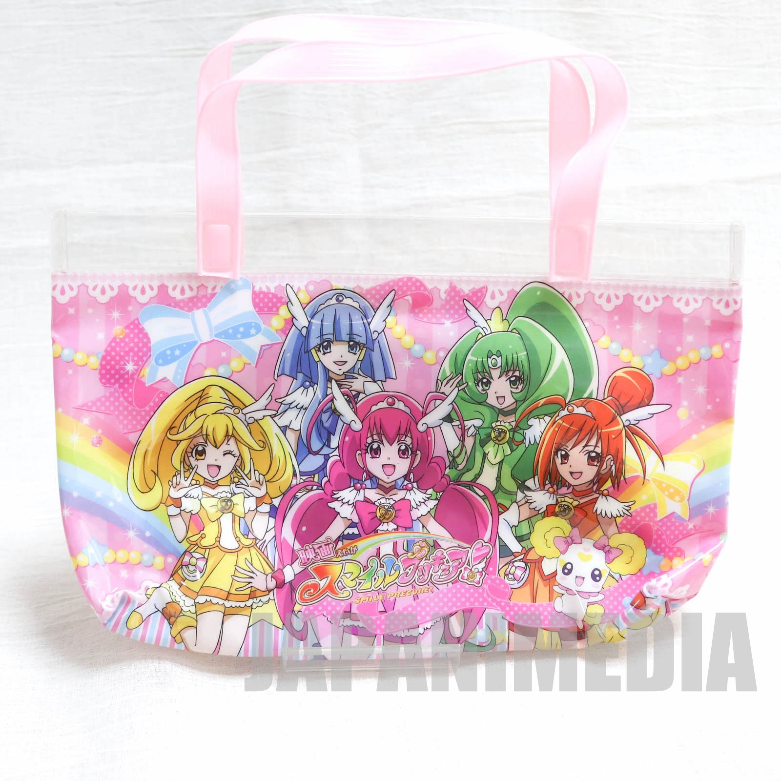 Smile PreCure! Nylon Mini Tote Bag [Cure Happy | Cure Sunny | Cure Peace | Cure March | Cure Beauty | Candy] JAPAN ANIME