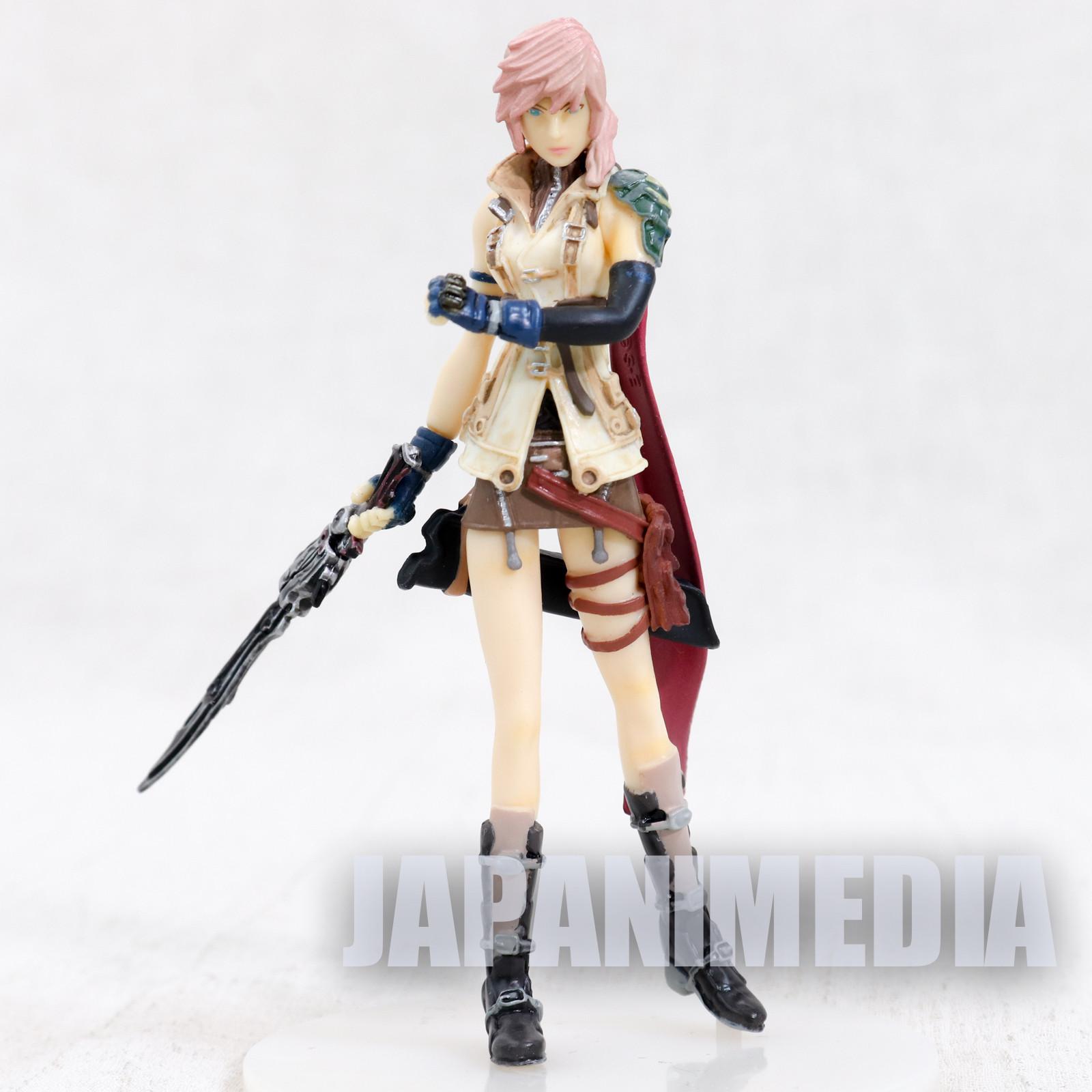 Final Fantasy VIII 8 Lightning Mini Figure JAPAN SQUARE ENIX