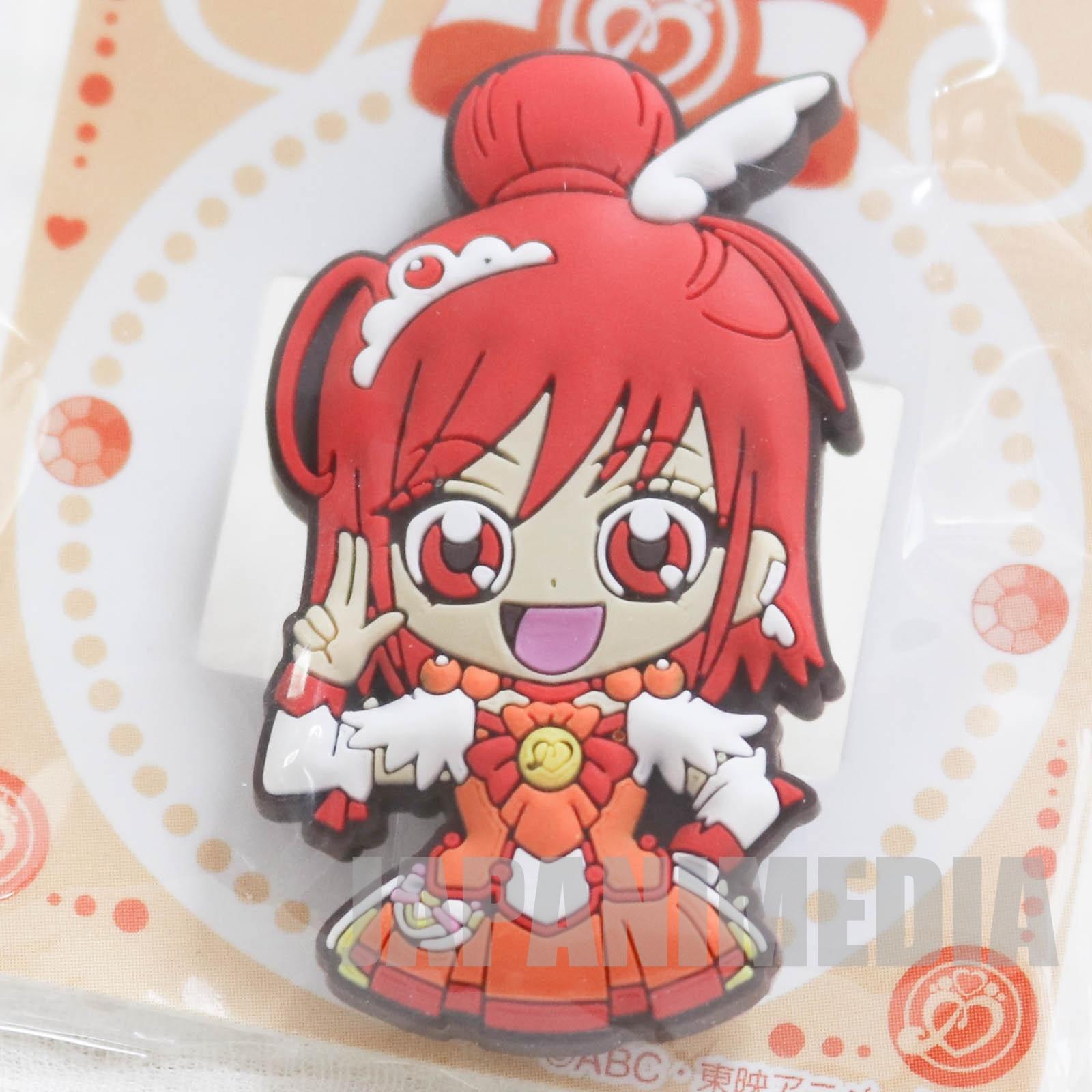 Smile PreCure! Cure Sunny Die cut rubber clip JAPAN ANIME