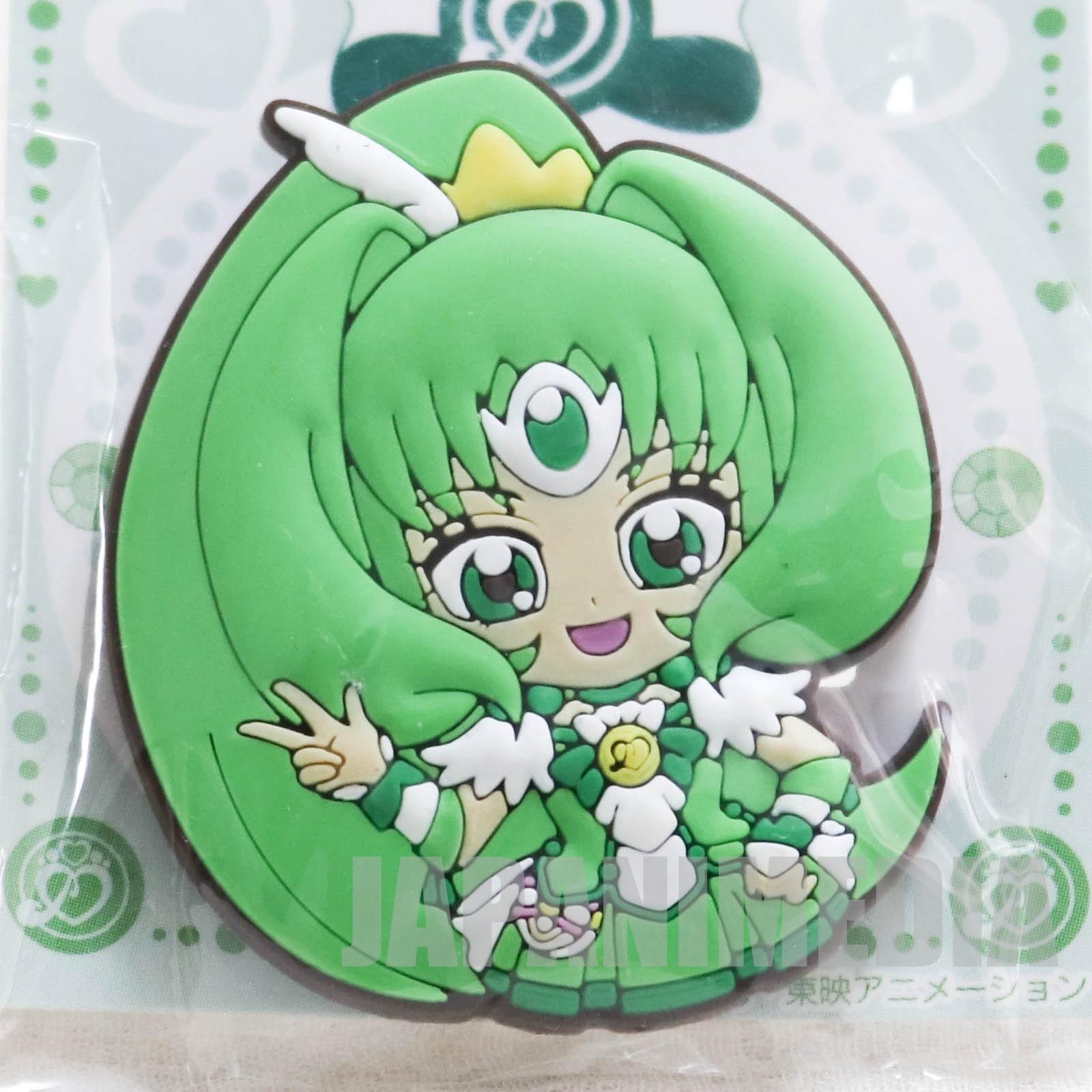 Smile PreCure! Cure March Die cut rubber clip JAPAN ANIME