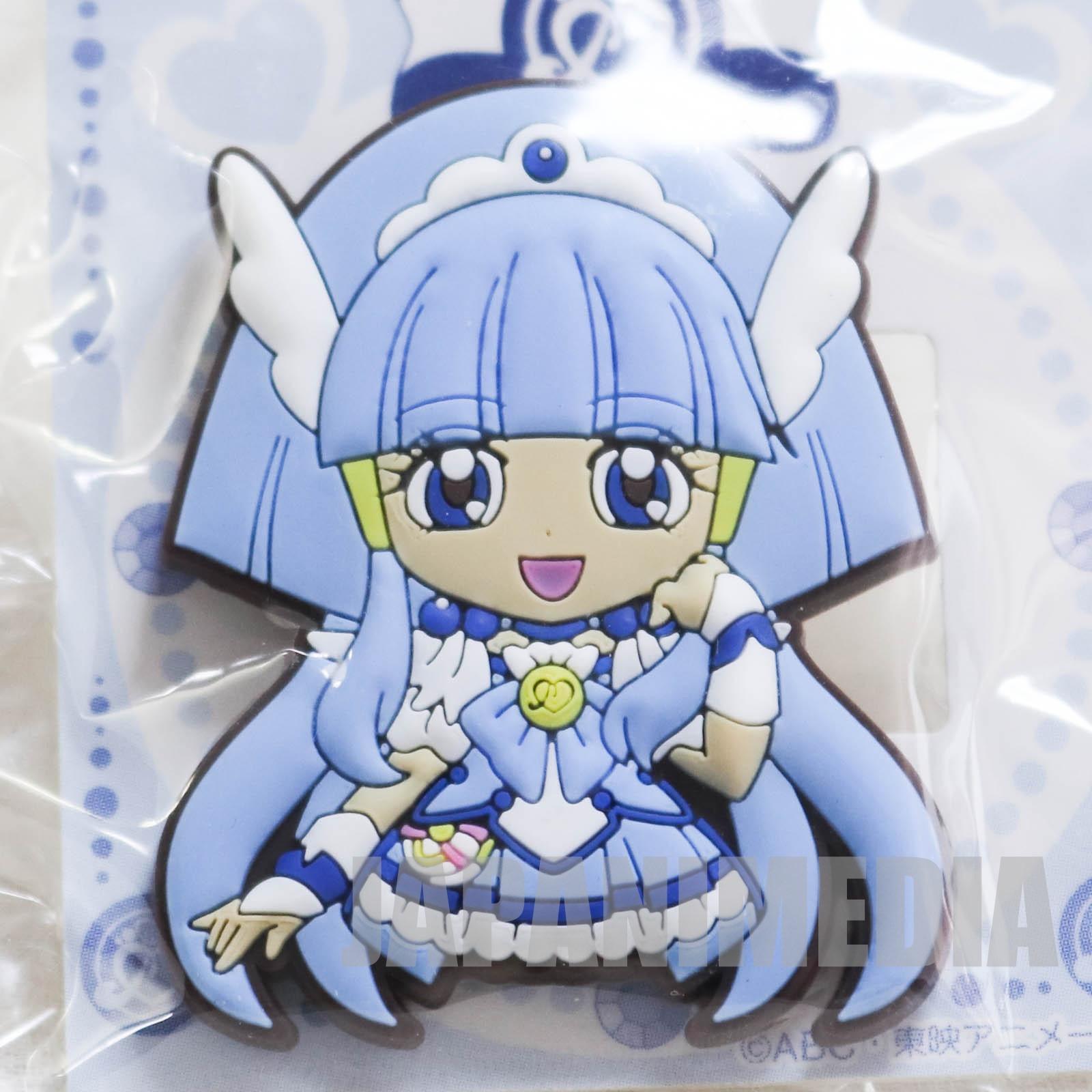 Smile PreCure! Cure Beauty Die cut rubber clip JAPAN ANIME