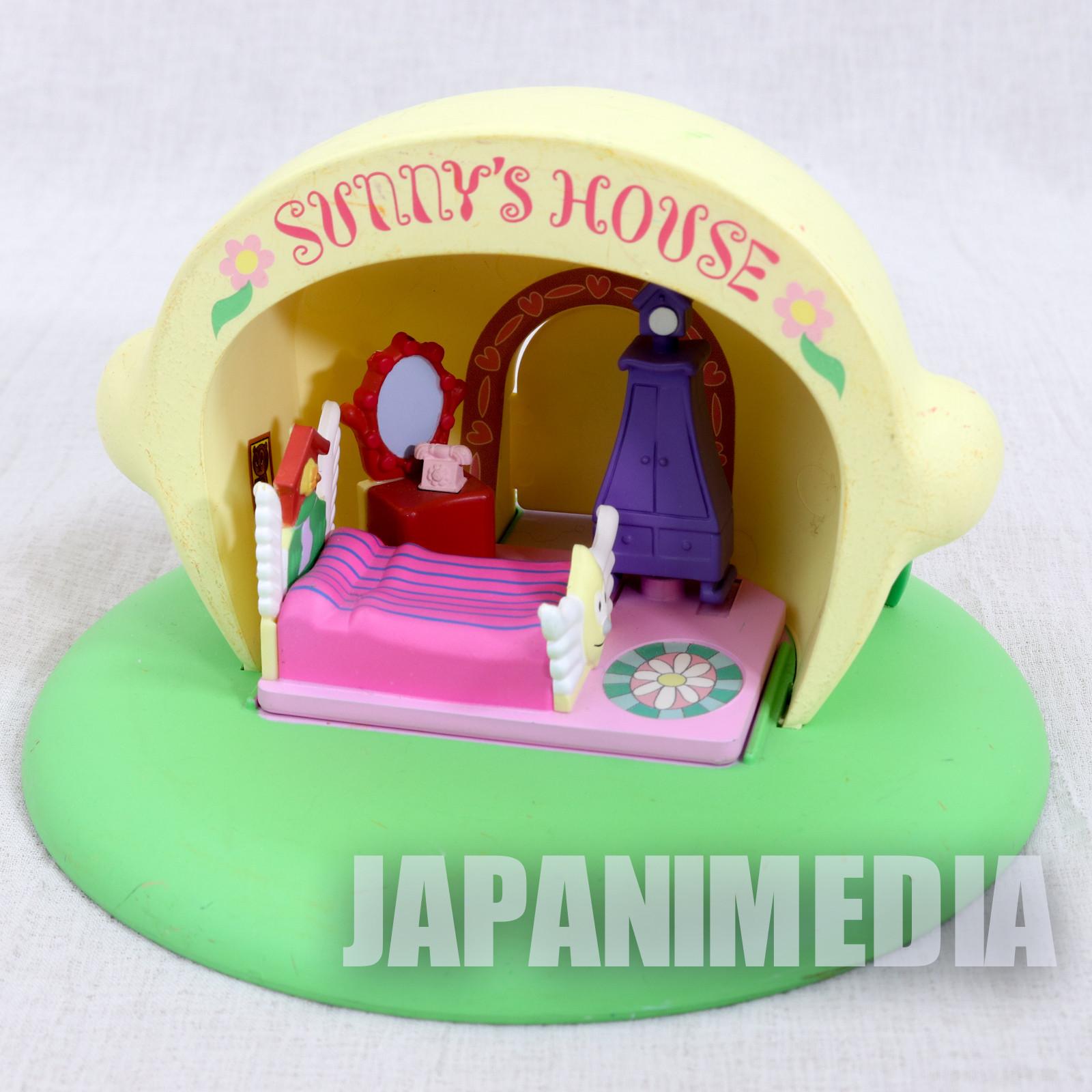(JUNK DAMAGED) Parappa The Rapper Sunny's Lemon House Miniature House Figure