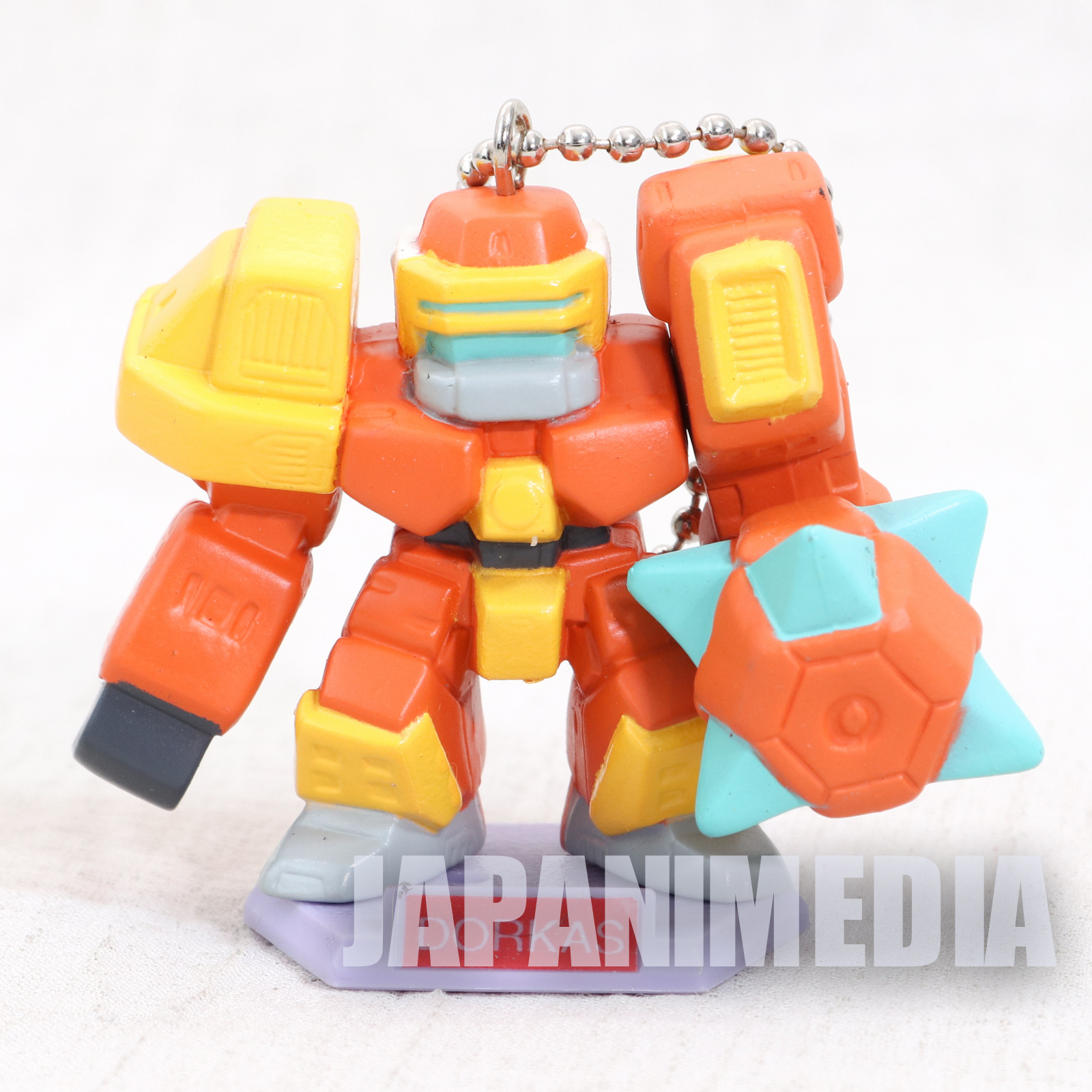 Virtual On: Cyber Troopers Dorkas Figure Keychain JAPAN SEGA