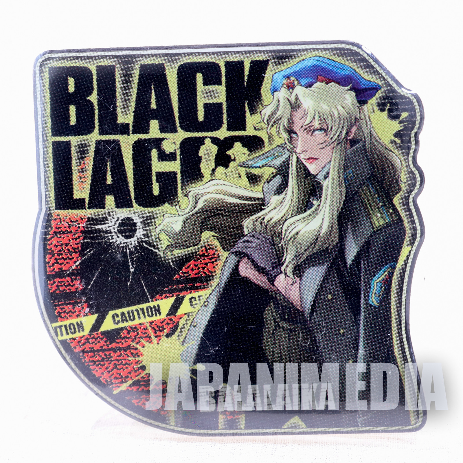 Black Lagoon Balalaika Metal Pins JAPAN ANIME MANGA