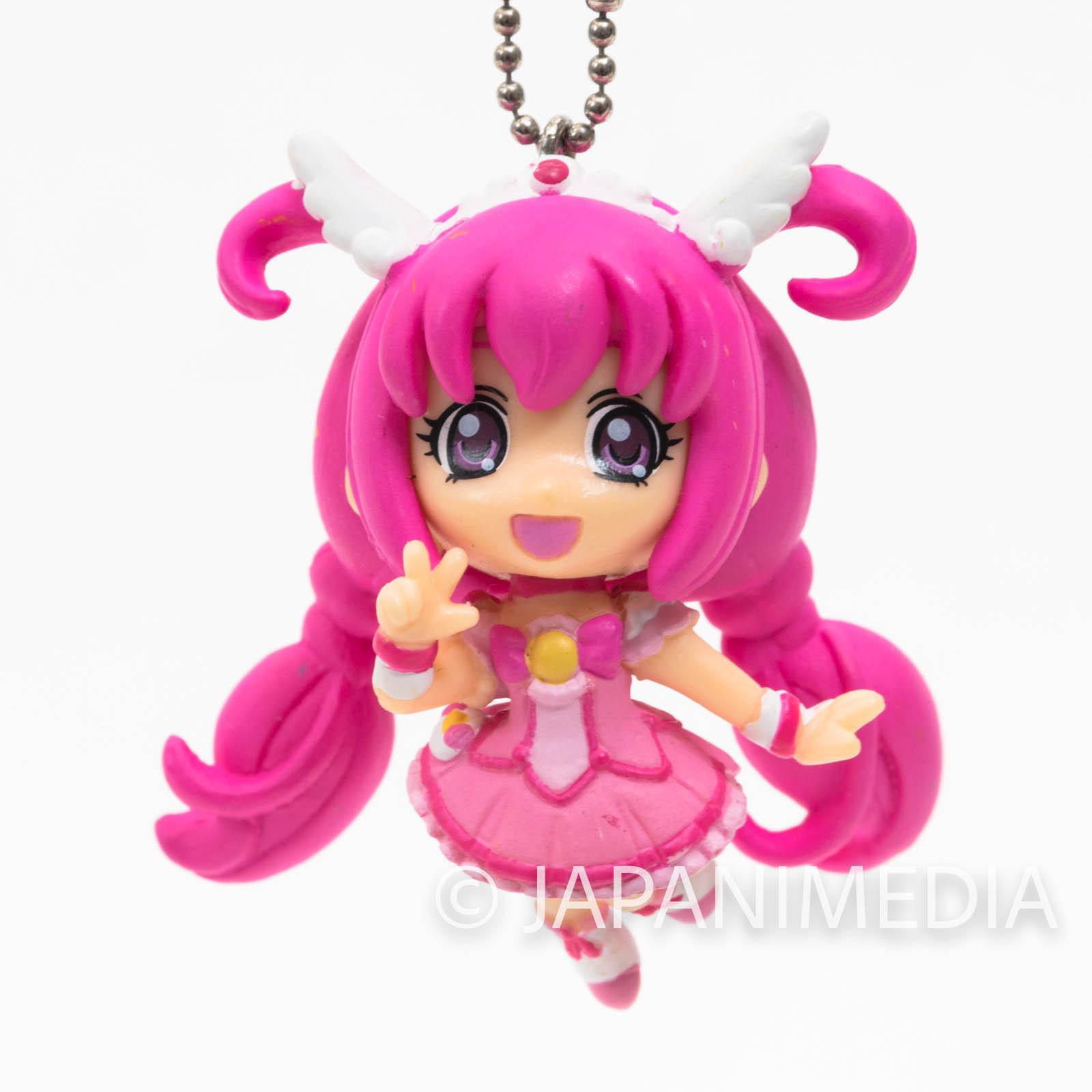 Smile PreCure! Cure Happy PreCure Mascot Figure Ball Keychain JAPAN ANIME