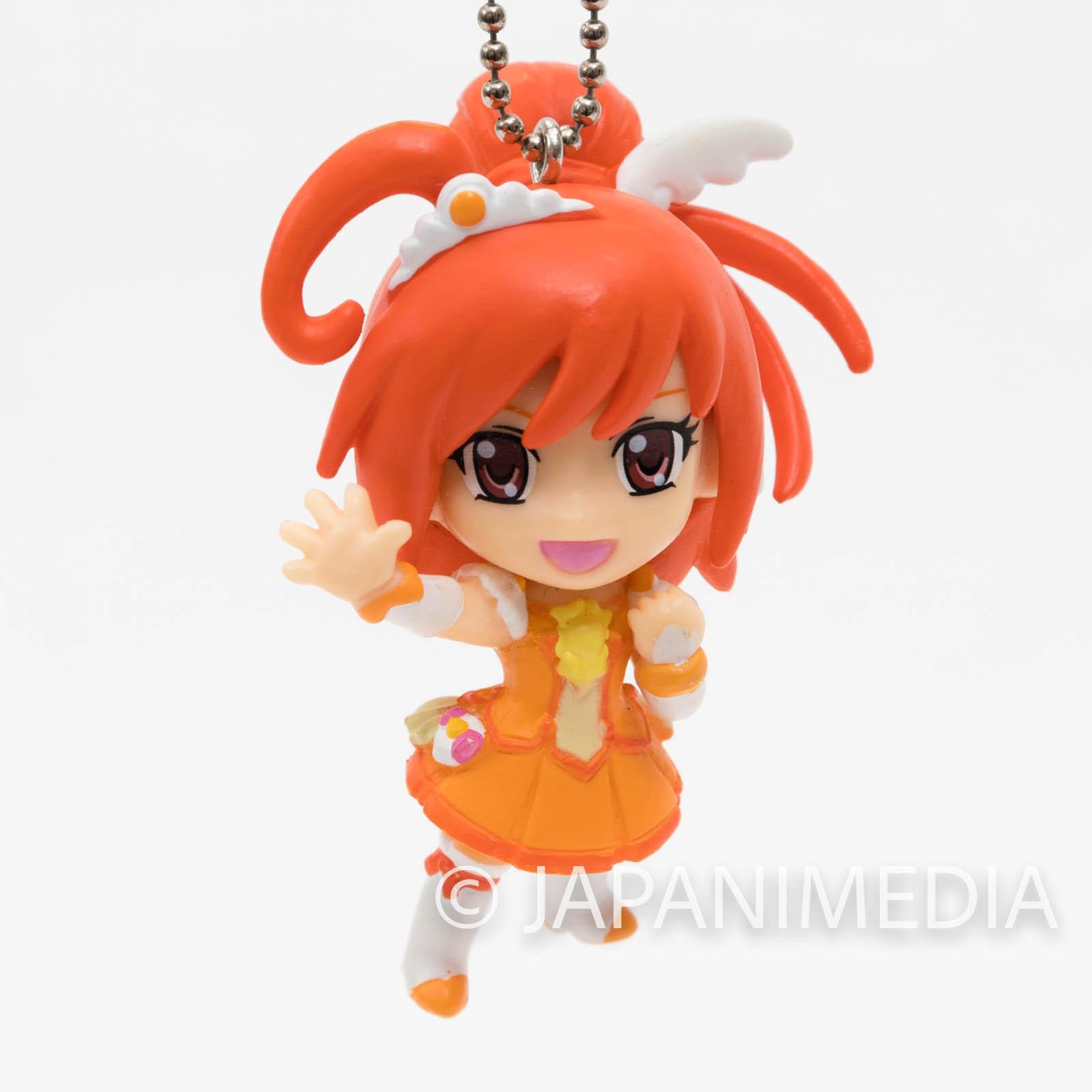 Smile PreCure! Cure Sunny PreCure Mascot Figure Ball Keychain JAPAN ANIME