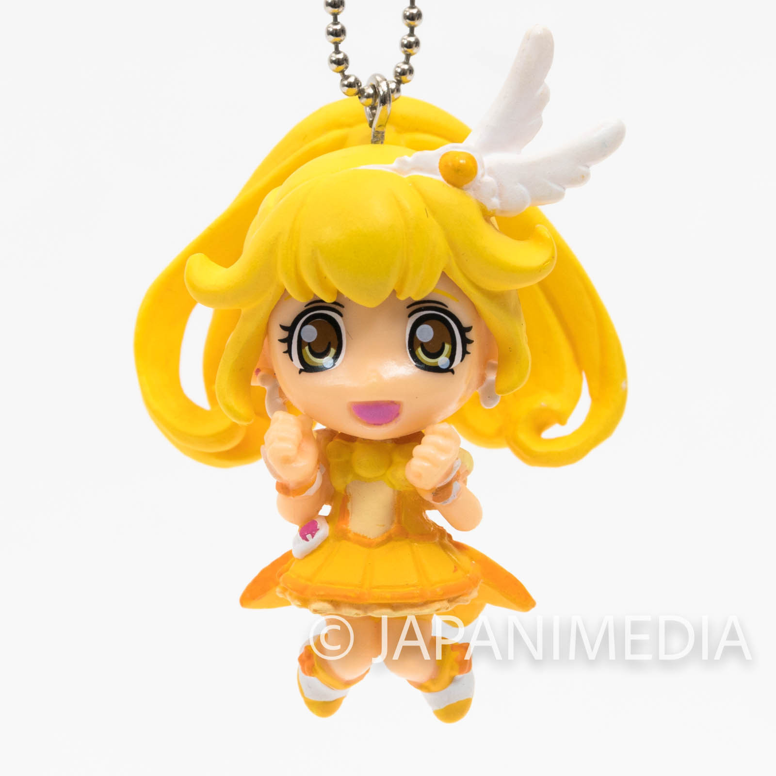 Smile PreCure! Cure Peace PreCure Mascot Figure Ball Keychain JAPAN ANIME