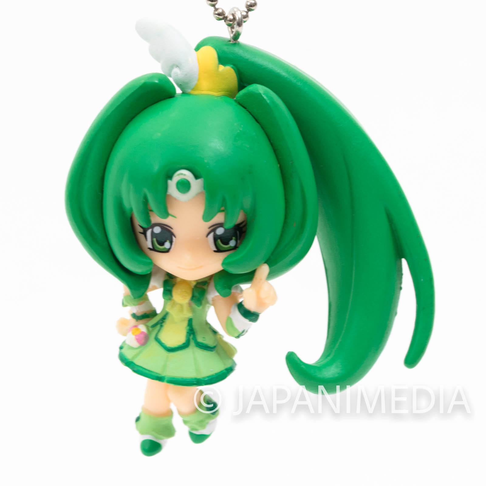 Smile PreCure! Cure March PreCure Mascot Figure Ball Keychain JAPAN ANIME