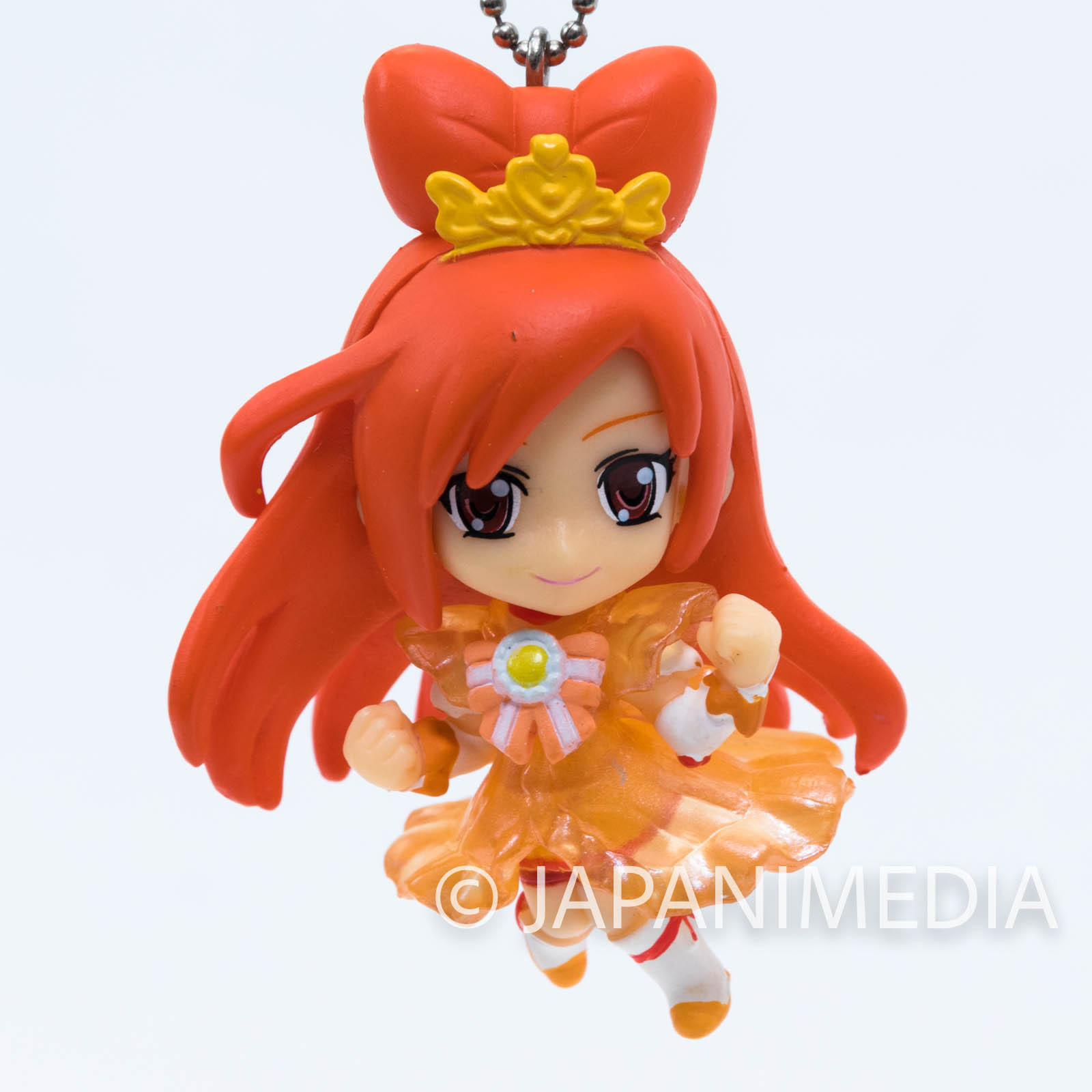 Smile PreCure! Princess Sunny PreCure Mascot Figure Ball Keychain JAPAN ANIME