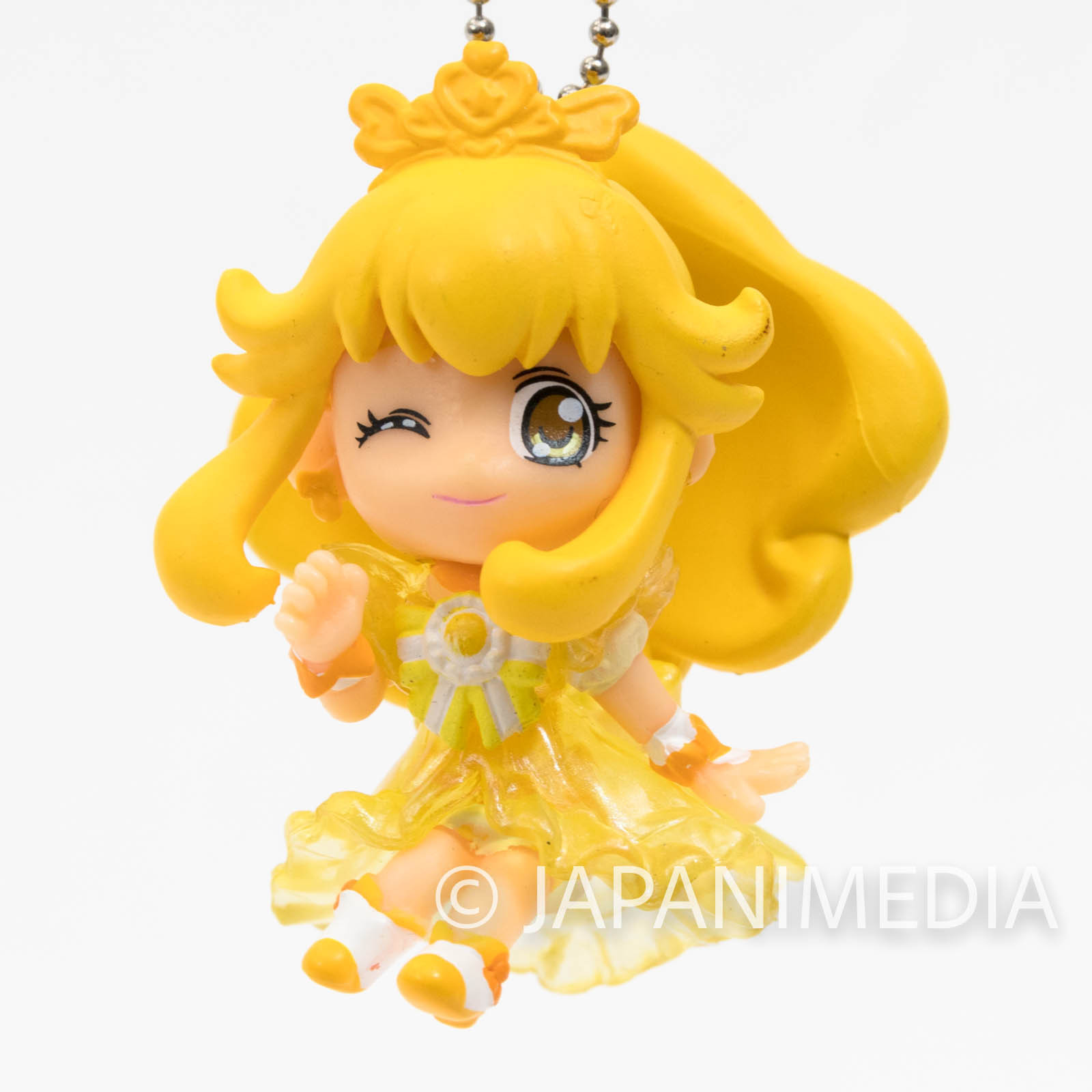 Smile PreCure! Princess Peace PreCure Mascot Figure Ball Keychain JAPAN ANIME