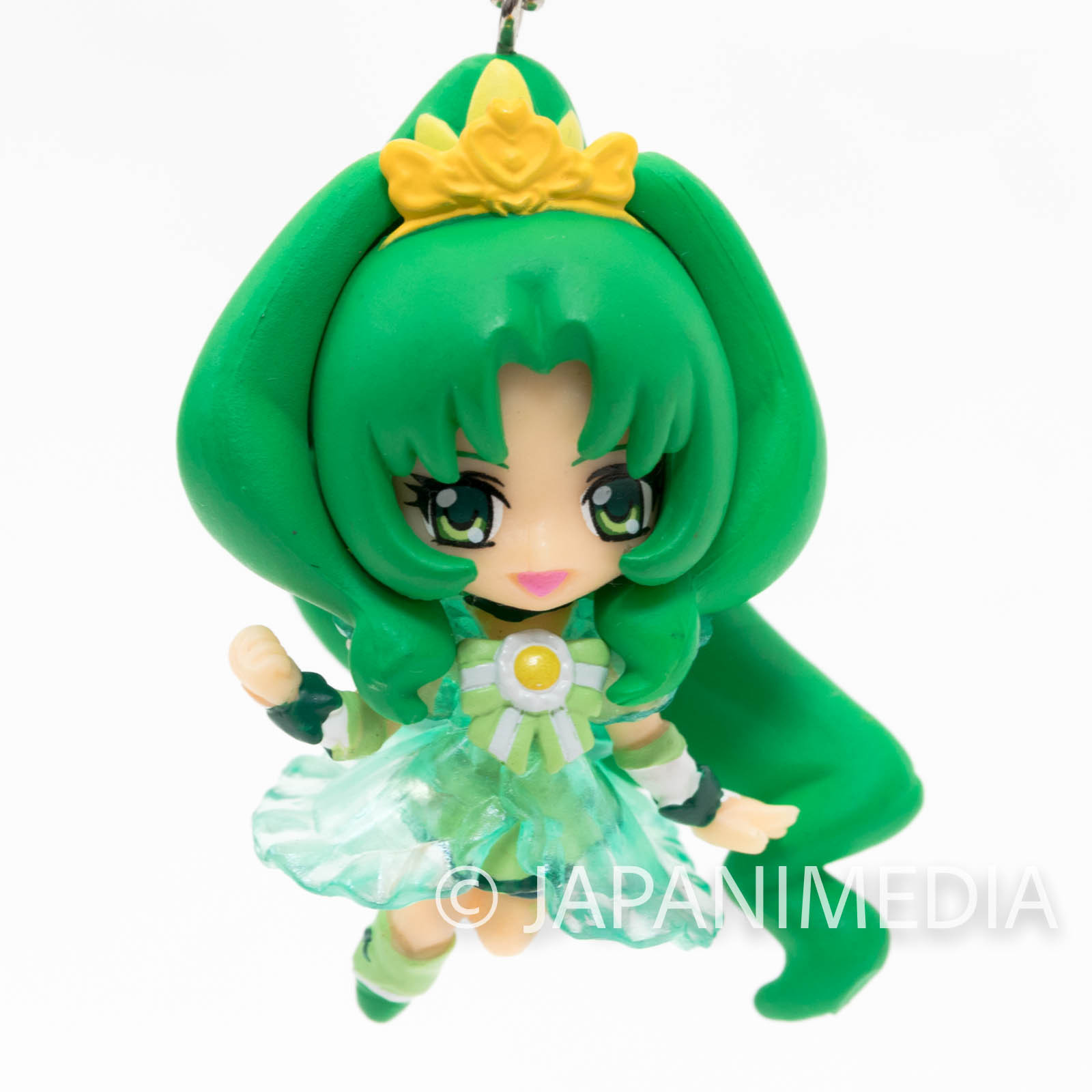Smile PreCure! Princess March PreCure Mascot Figure Ball Keychain JAPAN ANIME