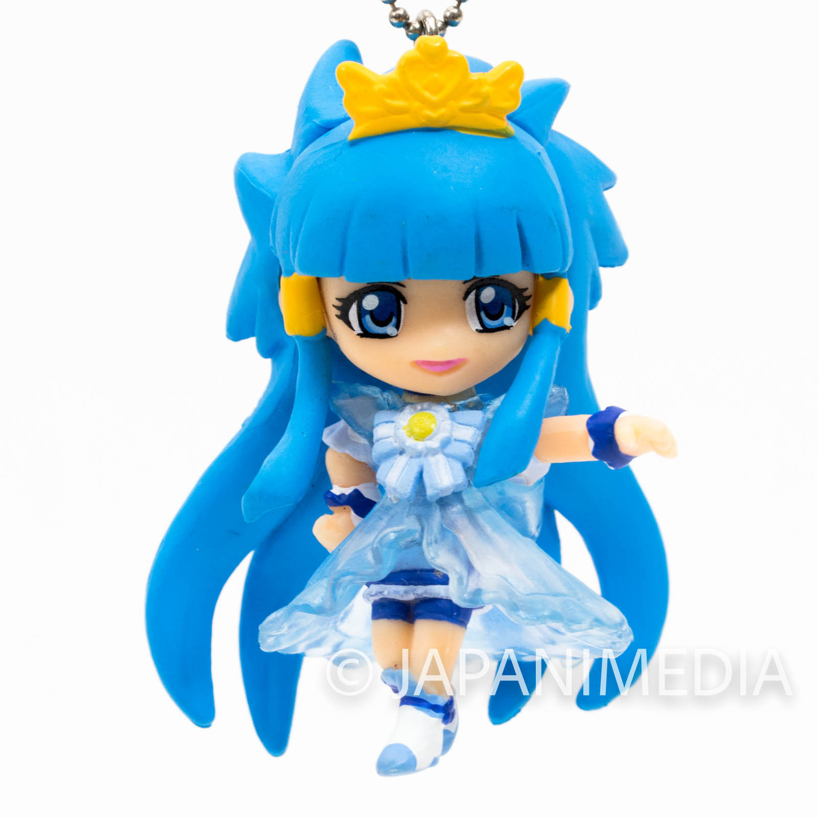 Smile PreCure! Princess Beauty PreCure Mascot Figure Ball Keychain JAPAN ANIME