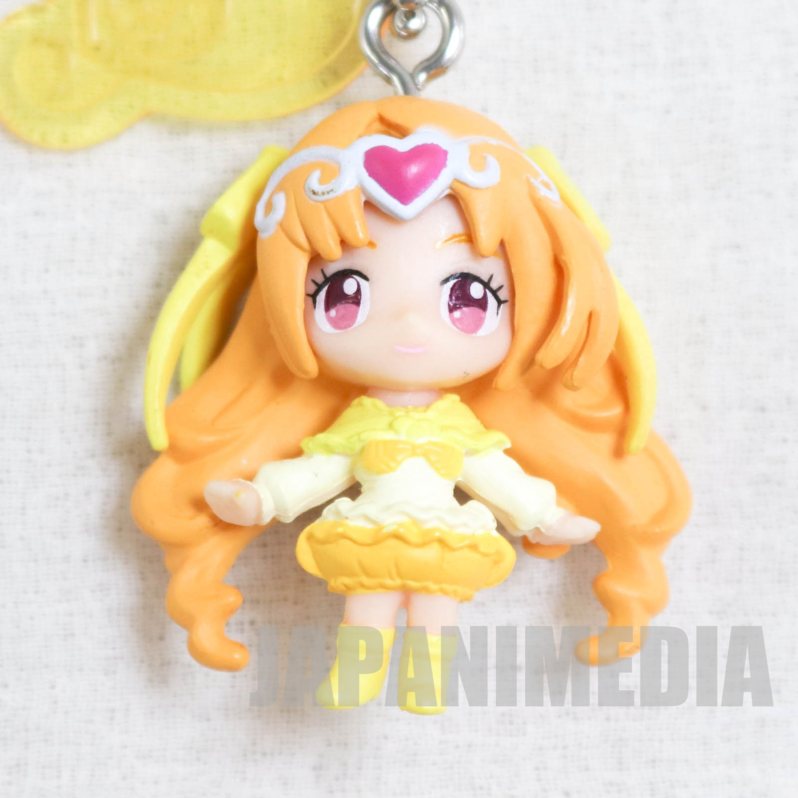 Suite PreCure Cure Muse PreCure Goddess Swing Mascot Figure Ball Keychain JAPAN ANIME