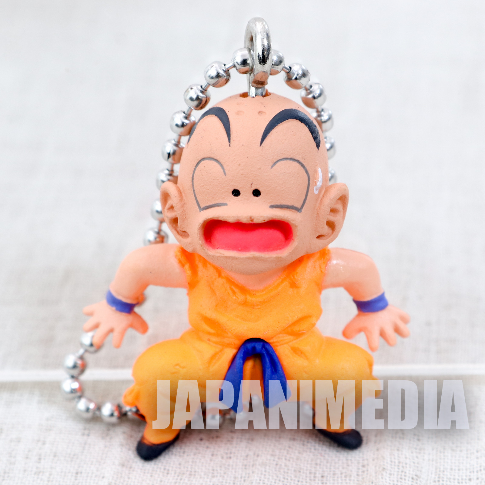 Dragon Ball Z Krillin Mini Figure Ballchain JAPAN ANIME MANGA