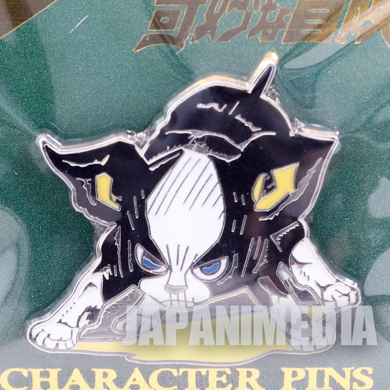 JoJo's Bizarre Adventure Iggy Dog Metal Pins JAPAN ANIME