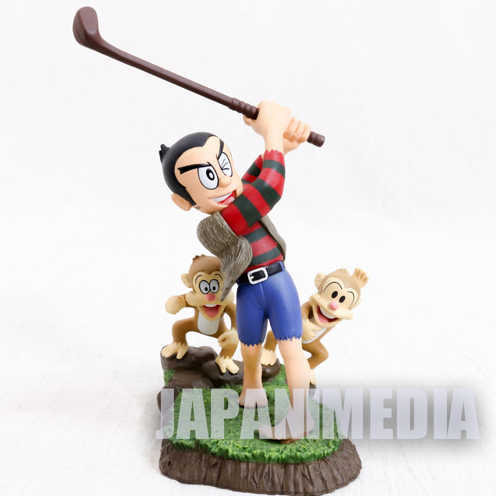 Pro Golfer Saru Sarumaru Sarutani Mini Diorama Figure JAPAN ANIME