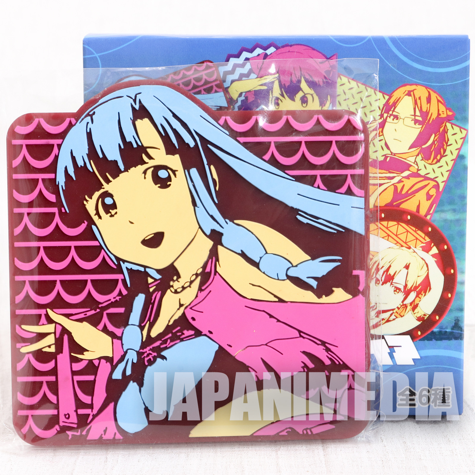 Suisei no Gargantia Rubber Coaster Saaya JAPAN ANIME MANGA