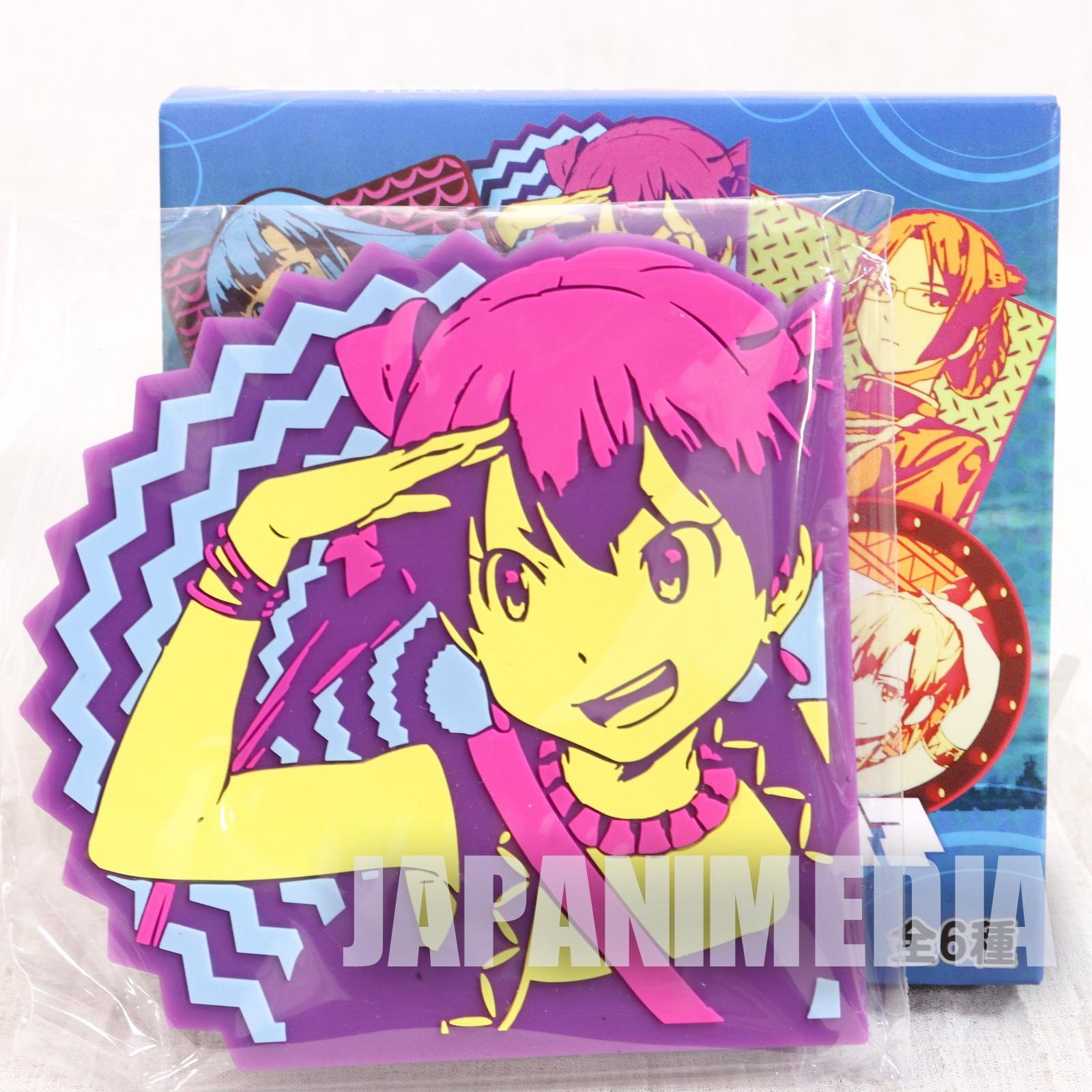 Suisei no Gargantia Rubber Coaster Melty JAPAN ANIME MANGA