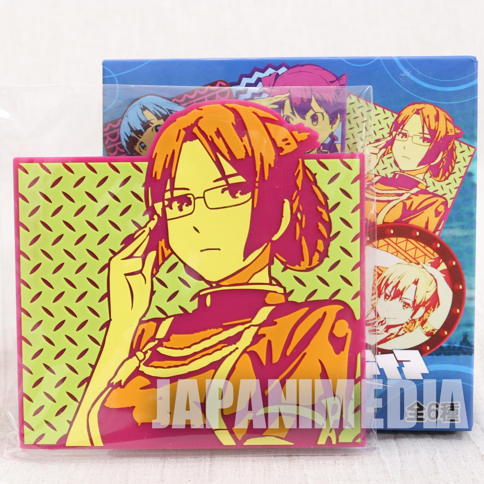 Suisei no Gargantia Rubber Coaster Ridget JAPAN ANIME MANGA
