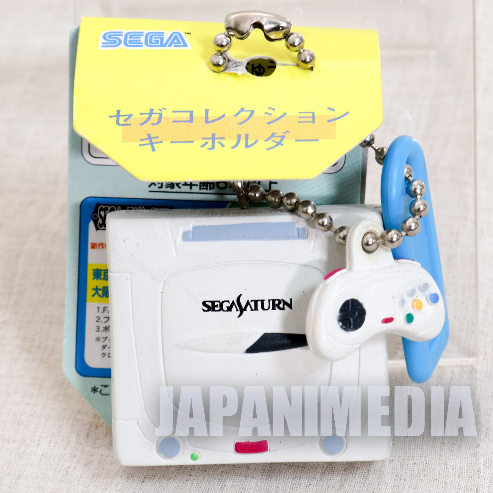 Sega Saturn Game Console Miniature Figure Ballchain JAPAN GAME