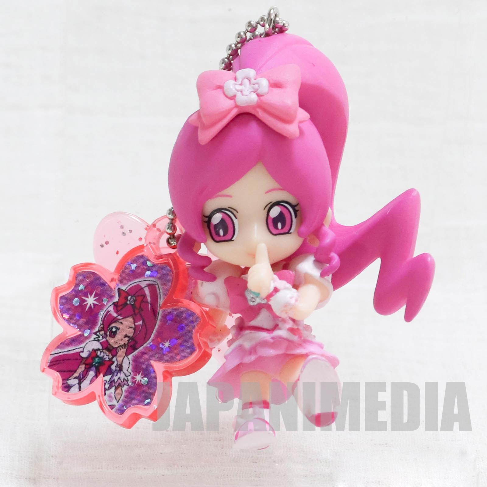 HeartCatch PreCure! Cure Blossom PreCure Charm mascot Figure Keychain JAPAN ANIME