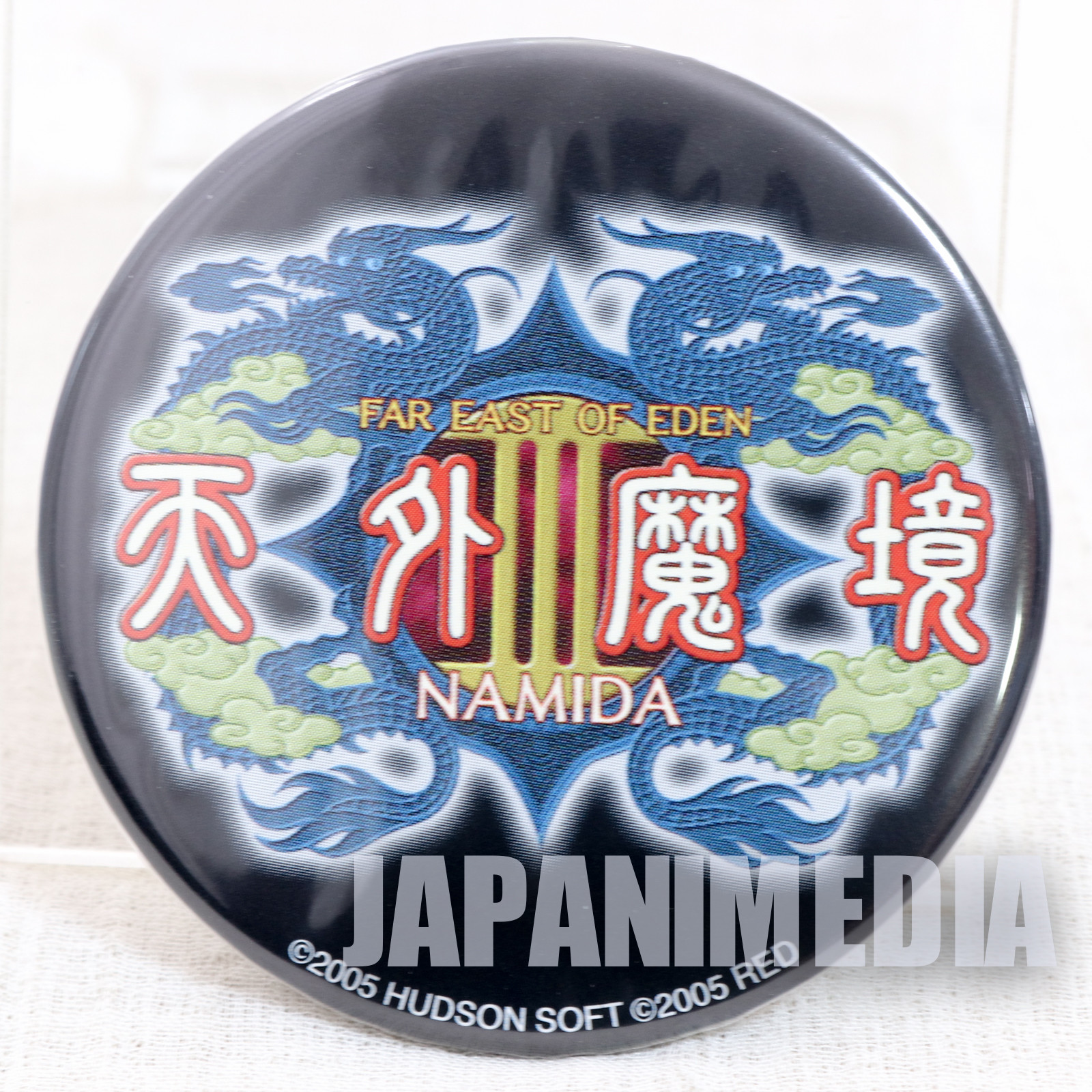 Tengai Makyou Far East of Eden III: Namida Mirror Badge JAPAN ANIME