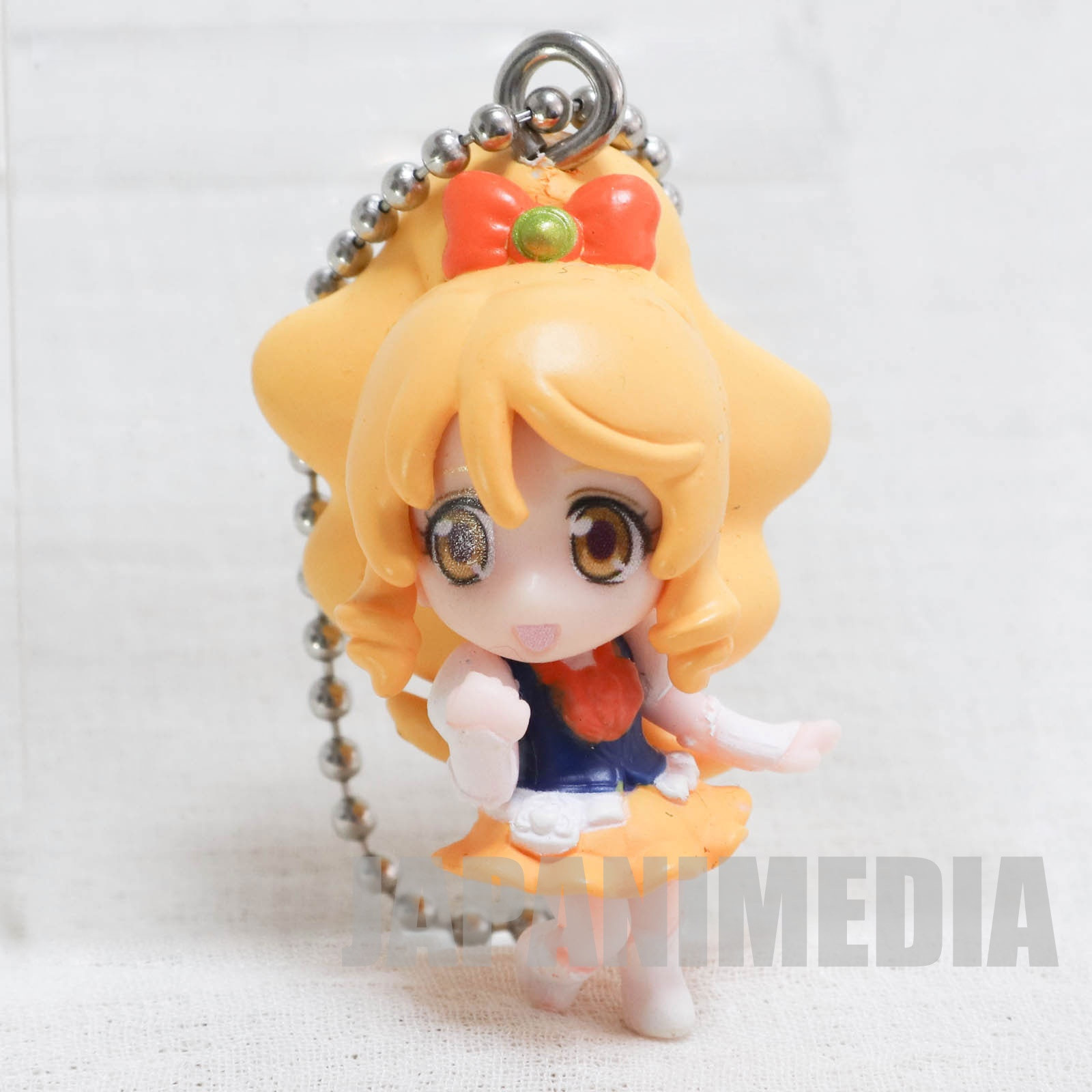 HappinessCharge PreCure! Cure Honey Kawa Run Run Swing Figure Ball keychain JAPAN ANIME