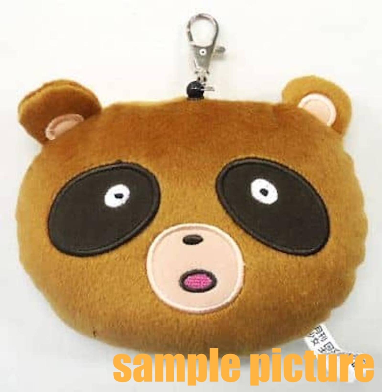 Monthly Girls' Nozaki-kun Tanuki Raccoon Dog Plush Doll Type Pass-card Case