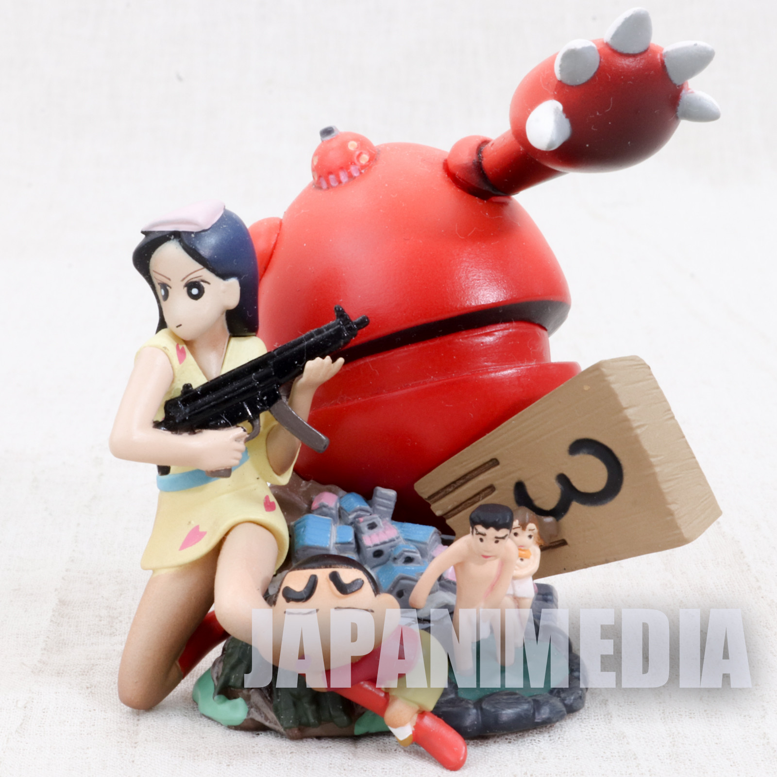 Crayon Shin-chan Movie Mini Diorama Figure Bakuhatsu! Onsen Wakuwaku Daikessen