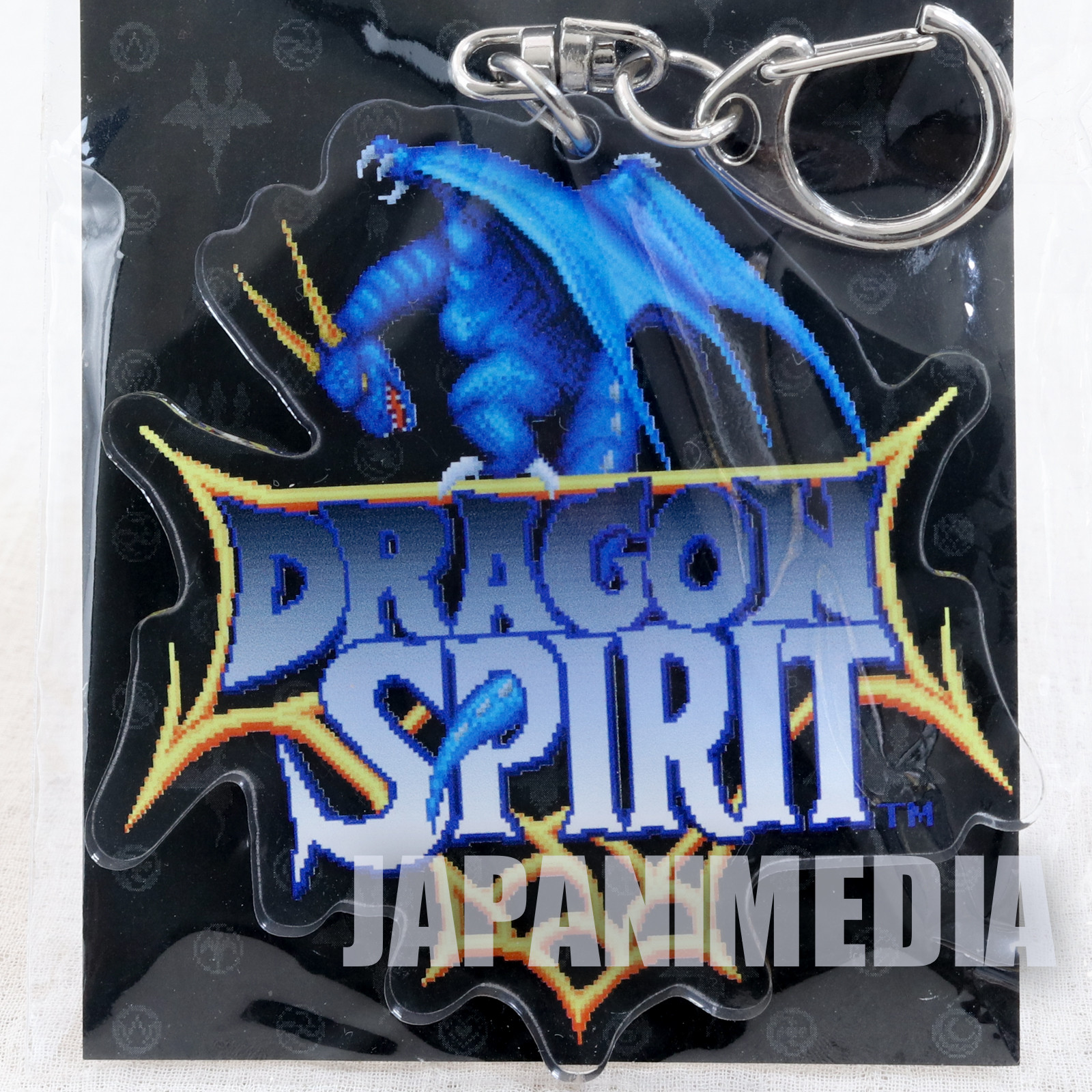 Dragon Spirit Acrylic Mascot Keychain JAPAN JAPAN GAME PC Engine NAMCO
