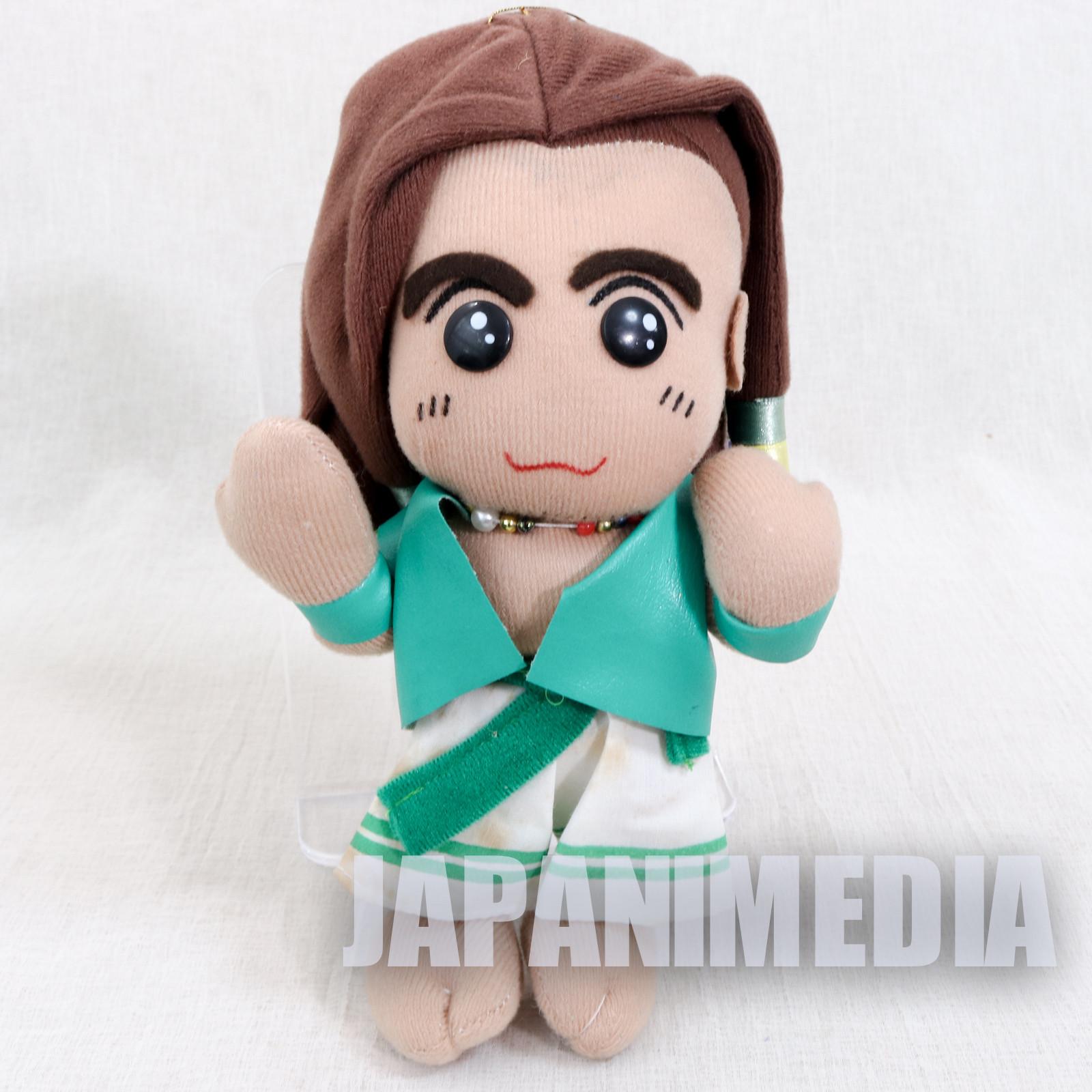 RARE! Fatal Fury / King of Fighters Bob Wilson Plush Doll SNK JAPAN