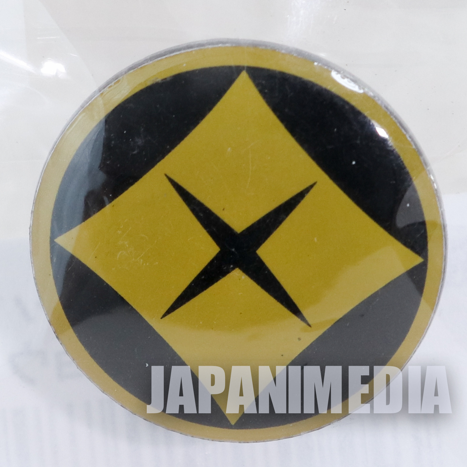 Ronin Warriors Samurai Troopers Ryo of the Wildfire Crest Mark Metal Pins