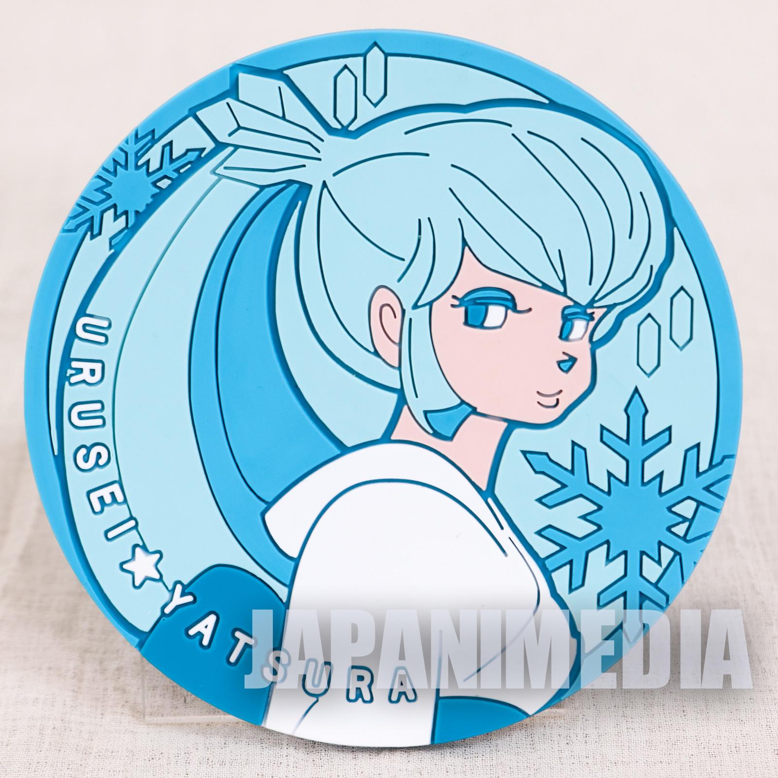 RARE!! Urusei Yatsura Rubber Coaster Oyuki JAPAN ANIME
