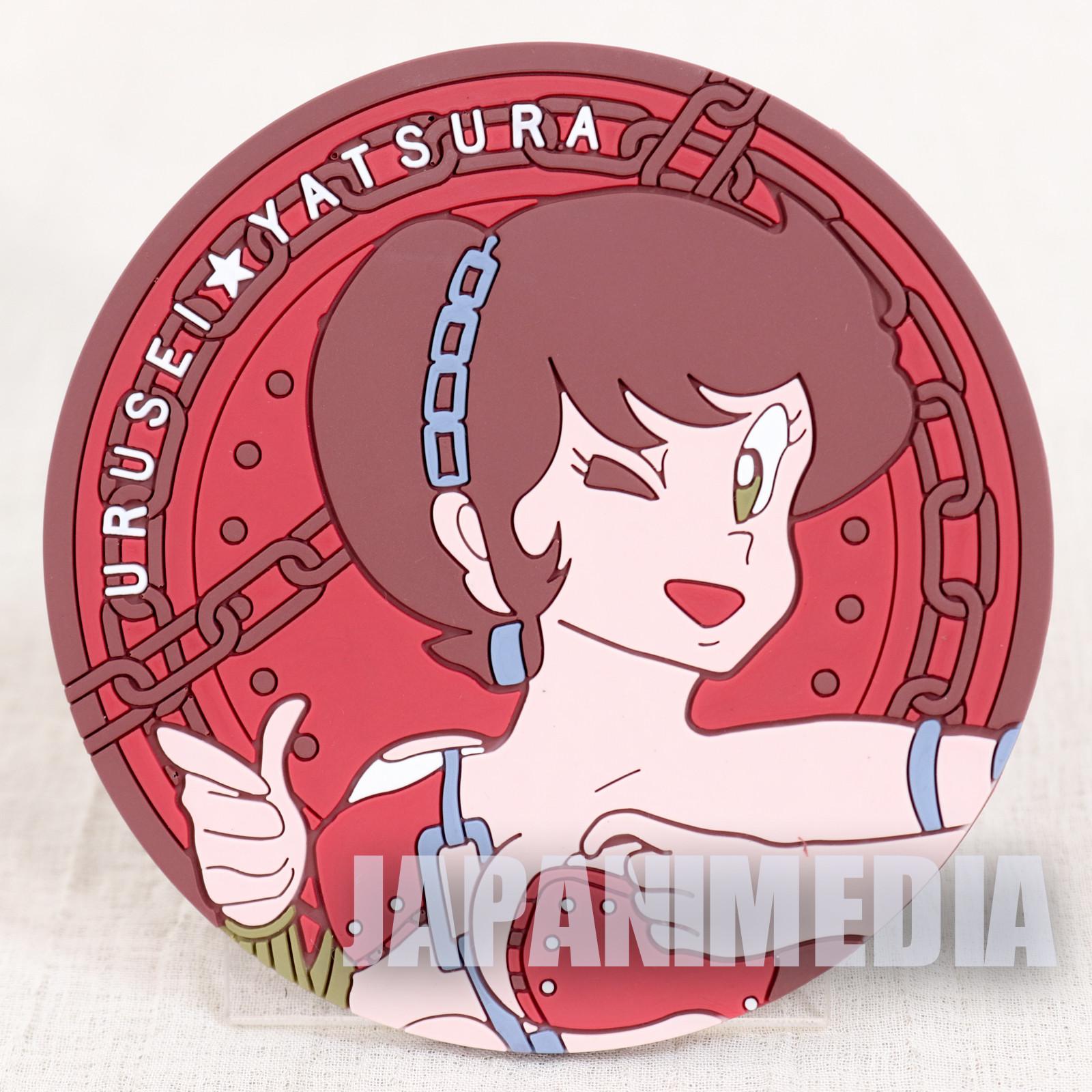 RARE!! Urusei Yatsura Rubber Coaster Benten JAPAN ANIME